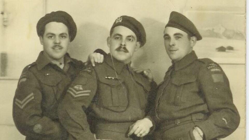 Conrad, Alex et Aurélius.