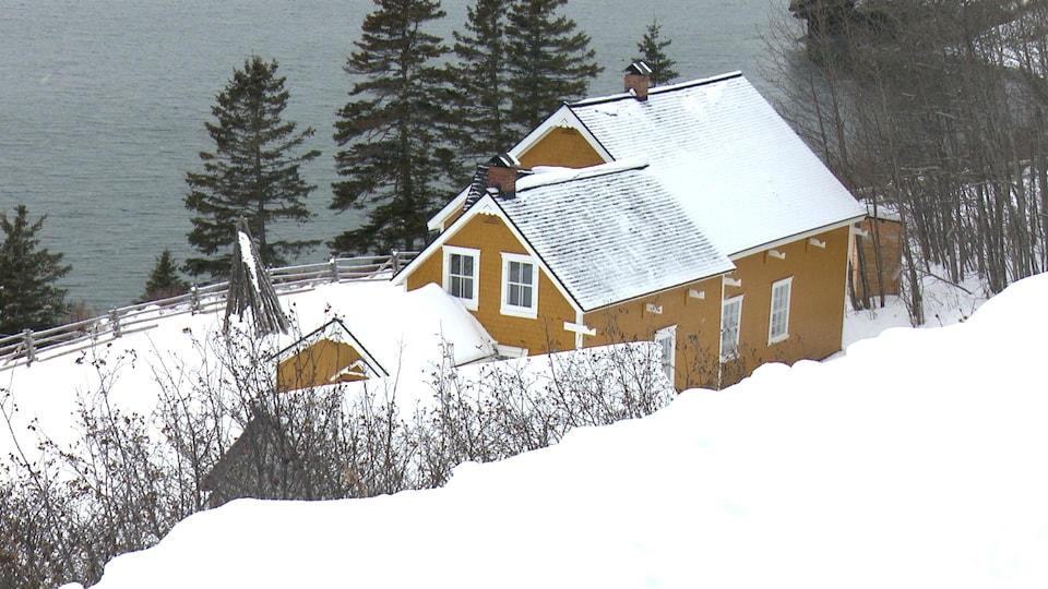 La Maison Blanchette, dans le Parc national Forillon