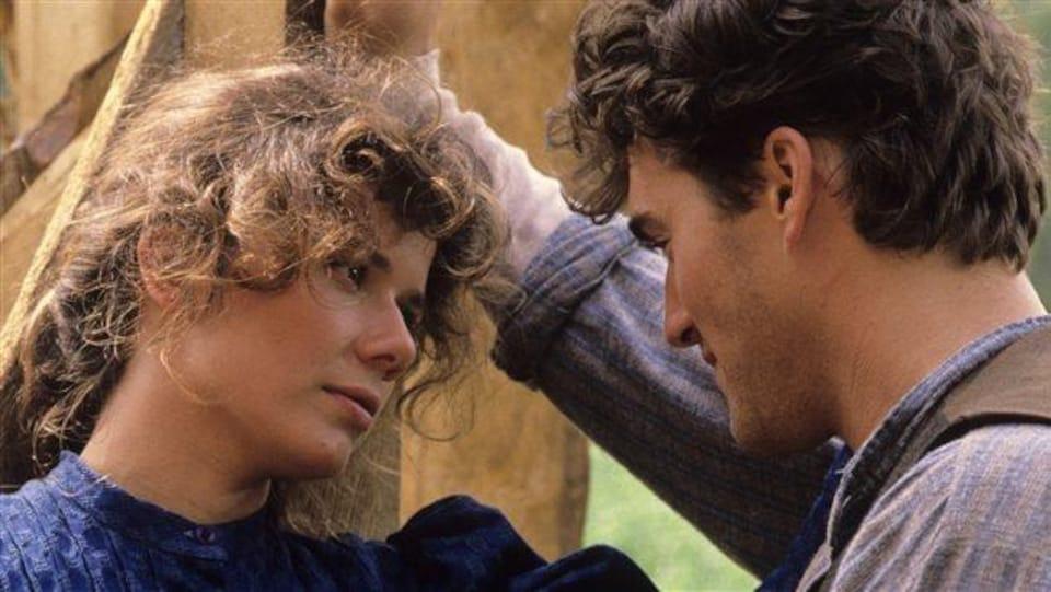 Émilie Pronovost et Roy Dupuis dans « Les filles de Caleb »
