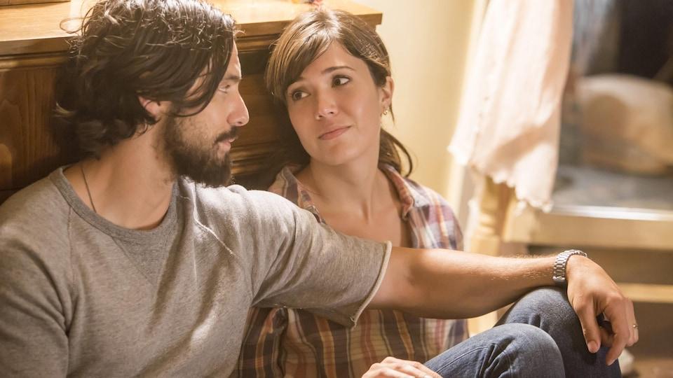 L'amour entre Jack et Rebecca est indéniable.