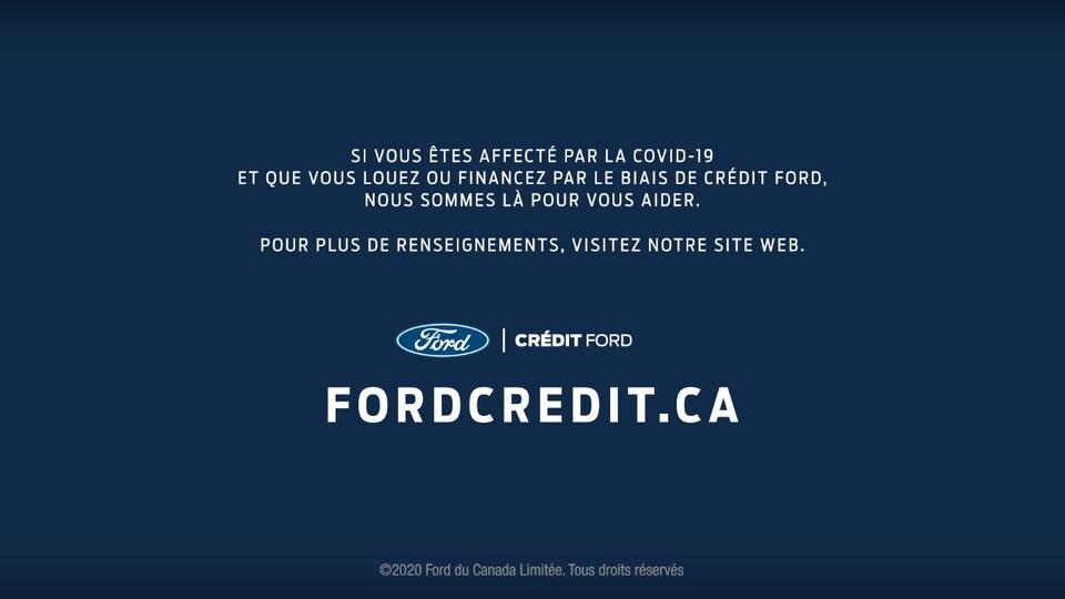 Ford écrit être là pour ses clients affectés par la COVID-19