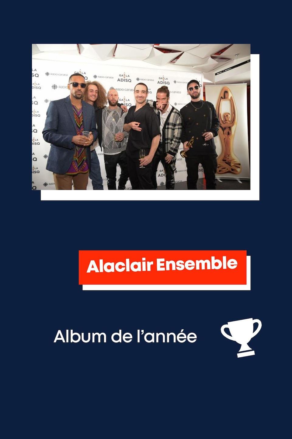 Alaclair Ensemble : album de l'année.