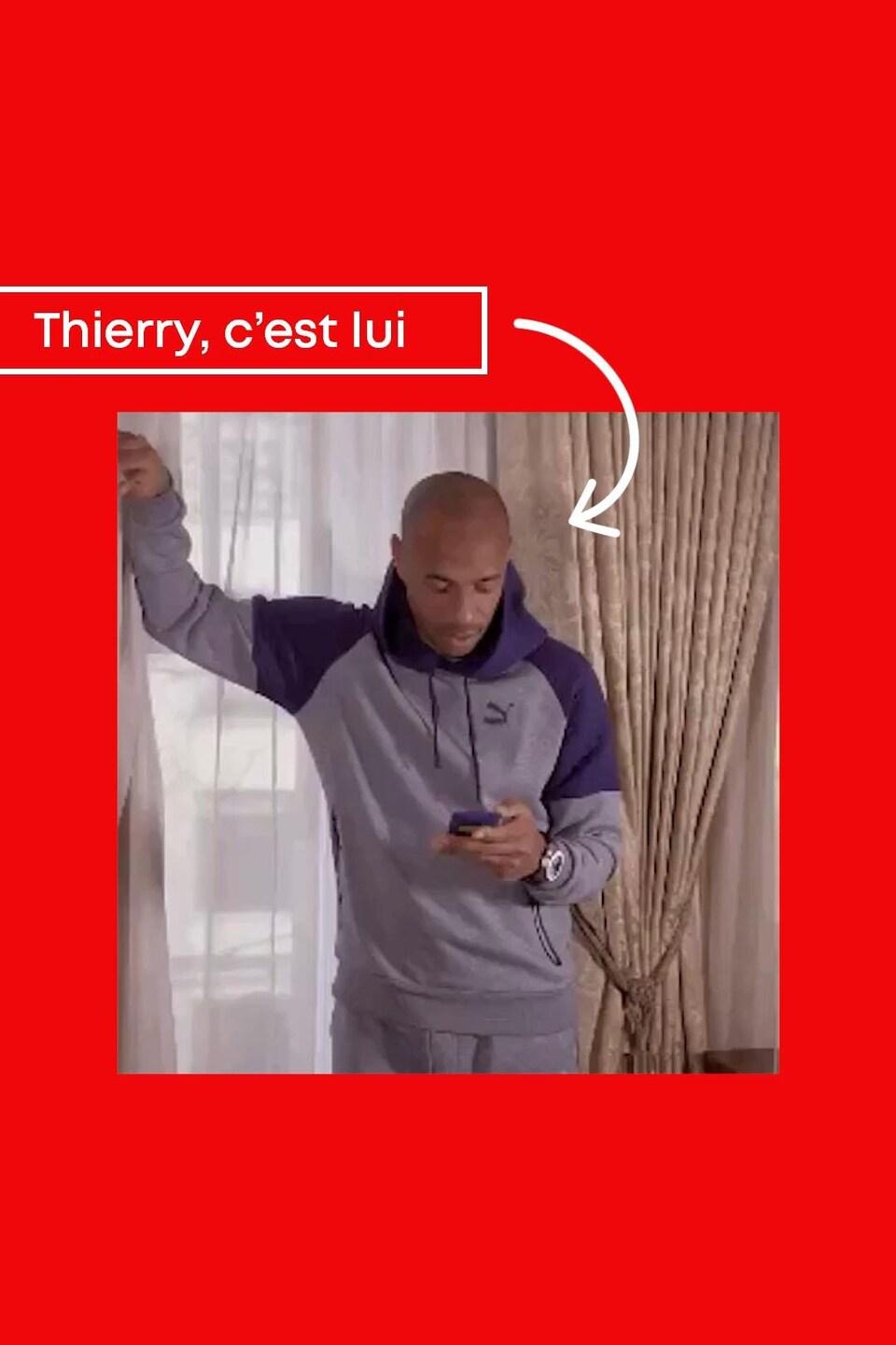 Thierry, c'est lui.