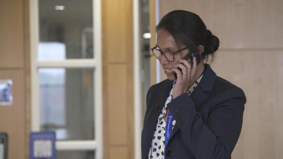 La Dre Caroline Quach, responsable de la prévention des infections au CHU Sainte-Justine.