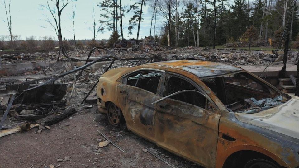 Un homme au volant d'une voiture a semé la terreur en Nouvelle-Écosse en avril 2020. La pire tuerie de l'histoire moderne du Canada.