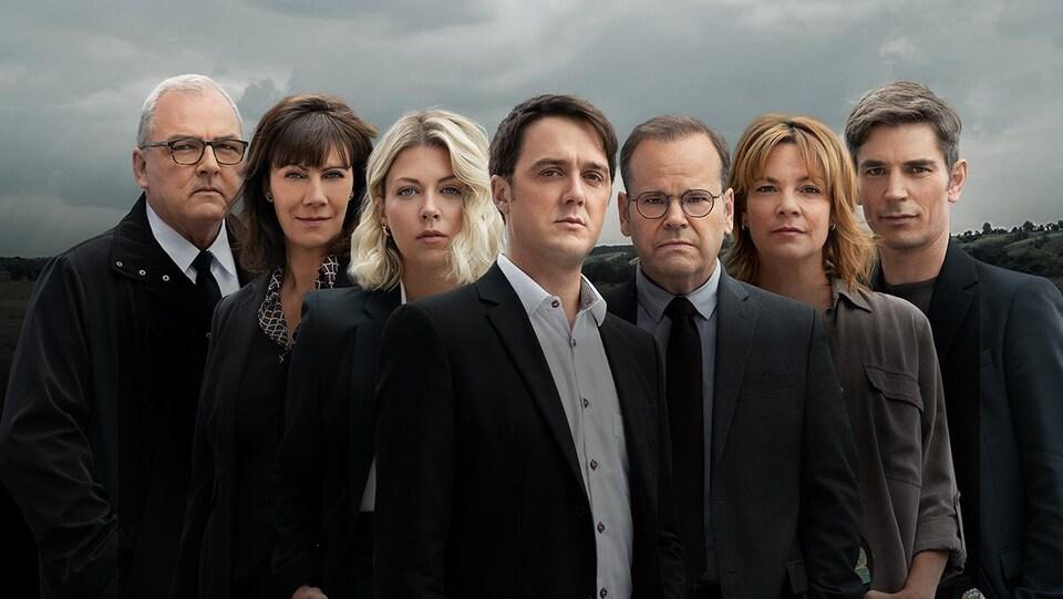 Sébastien Delorme, Michel Charette, Gildor Roy et Hélène Bourgeois Leclerc sont les têtes d'affiche dans <i>District 31</i>.