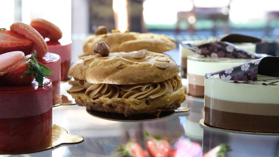 La pâtisserie de La Baraque gourmande.
