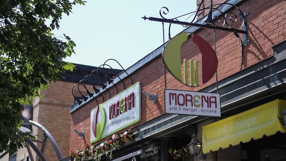 L'épicerie italienne Morena de l'avenue Cartier.