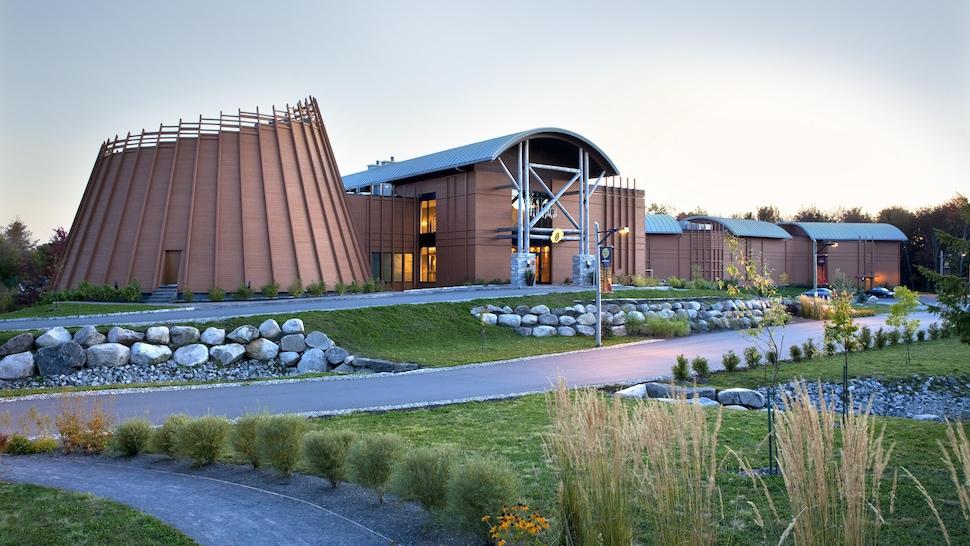 L'hôtel-musée Premières Nations à Wendake.