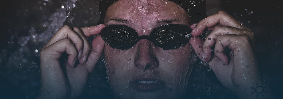 La nageuse Dania Belisle