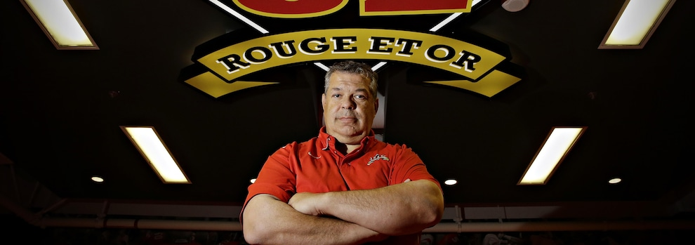 Glen Constantin, entraîneur-chef de l'équipe du football du Rouge et Or de l'Université Laval