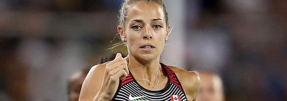 La coureuse canadienne Melissa Bishop