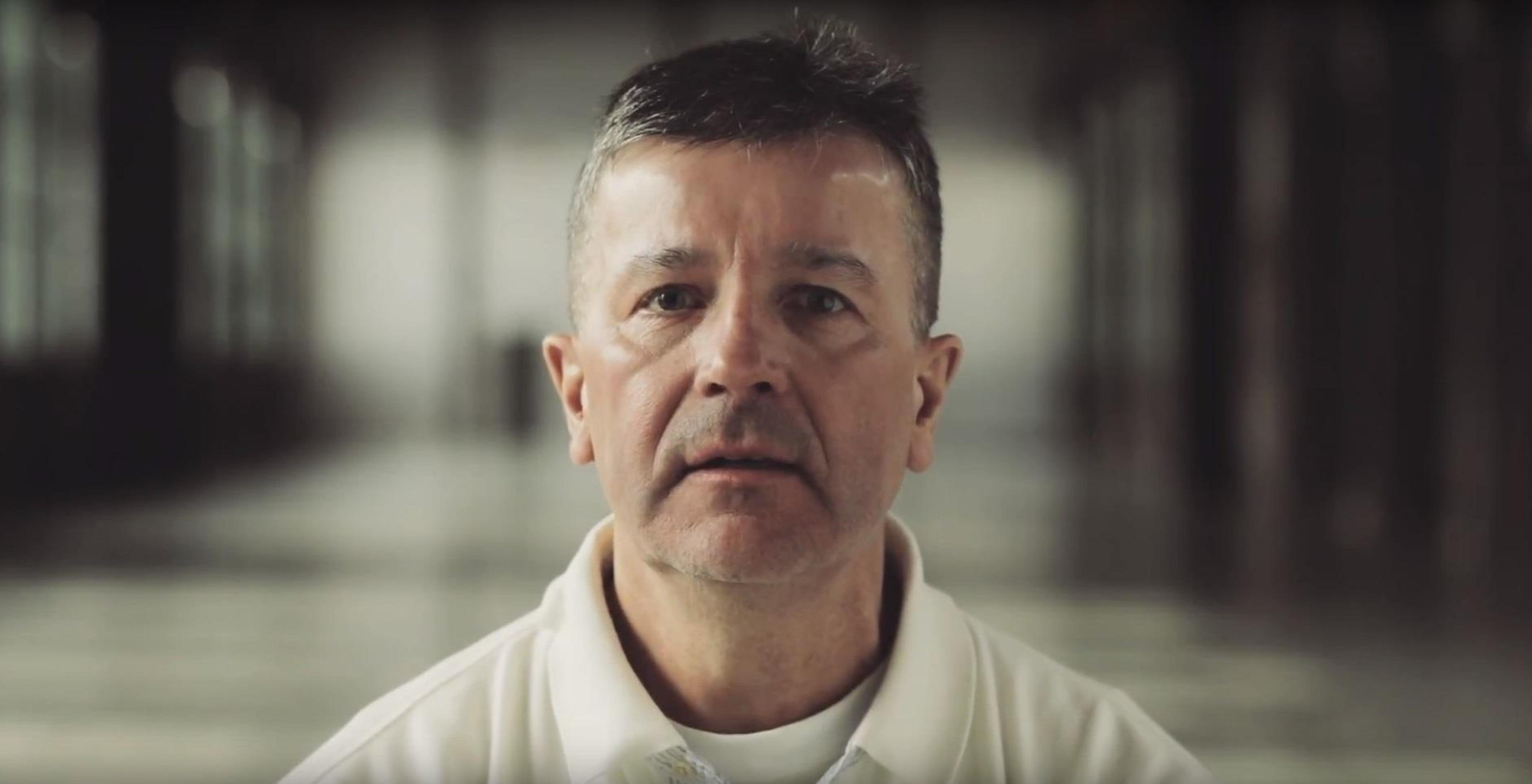 François Labrecque, dans une vidéo de sensibilisation réalisée pour l'organisme Emphase Mauricie/Centre-du-Québec.
