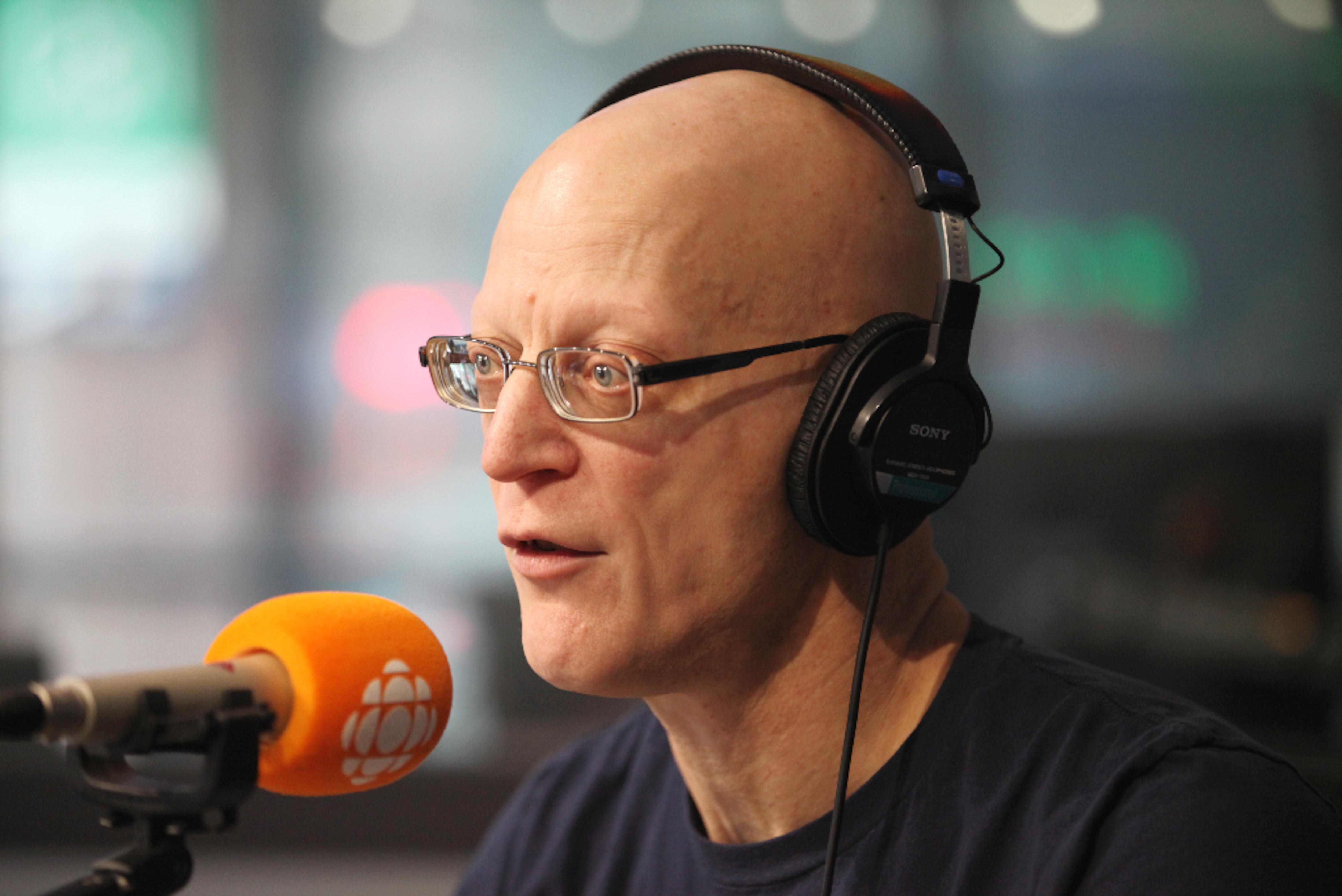 André Caron, en studio