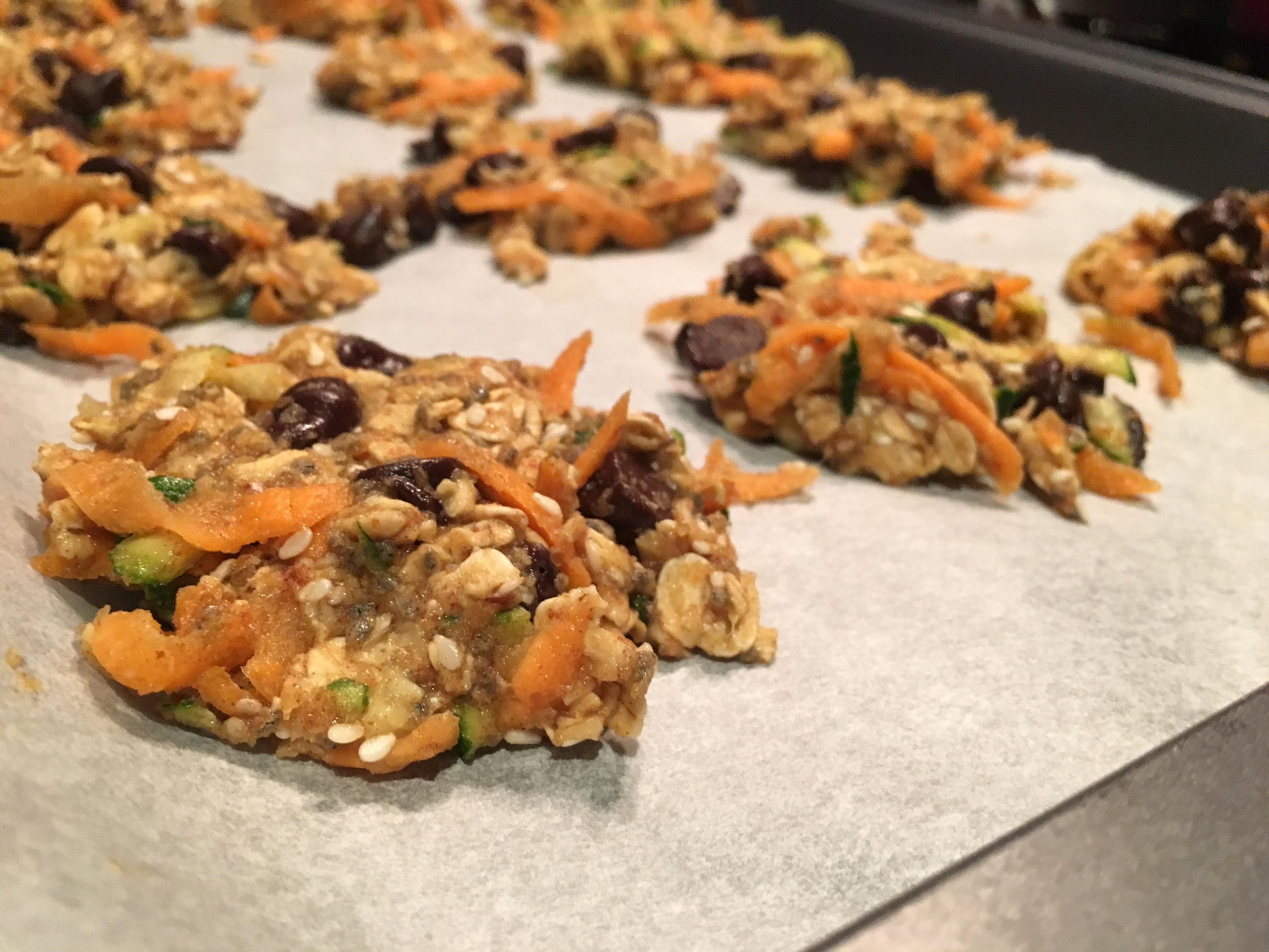 Des biscuits nourrissants aux légumes