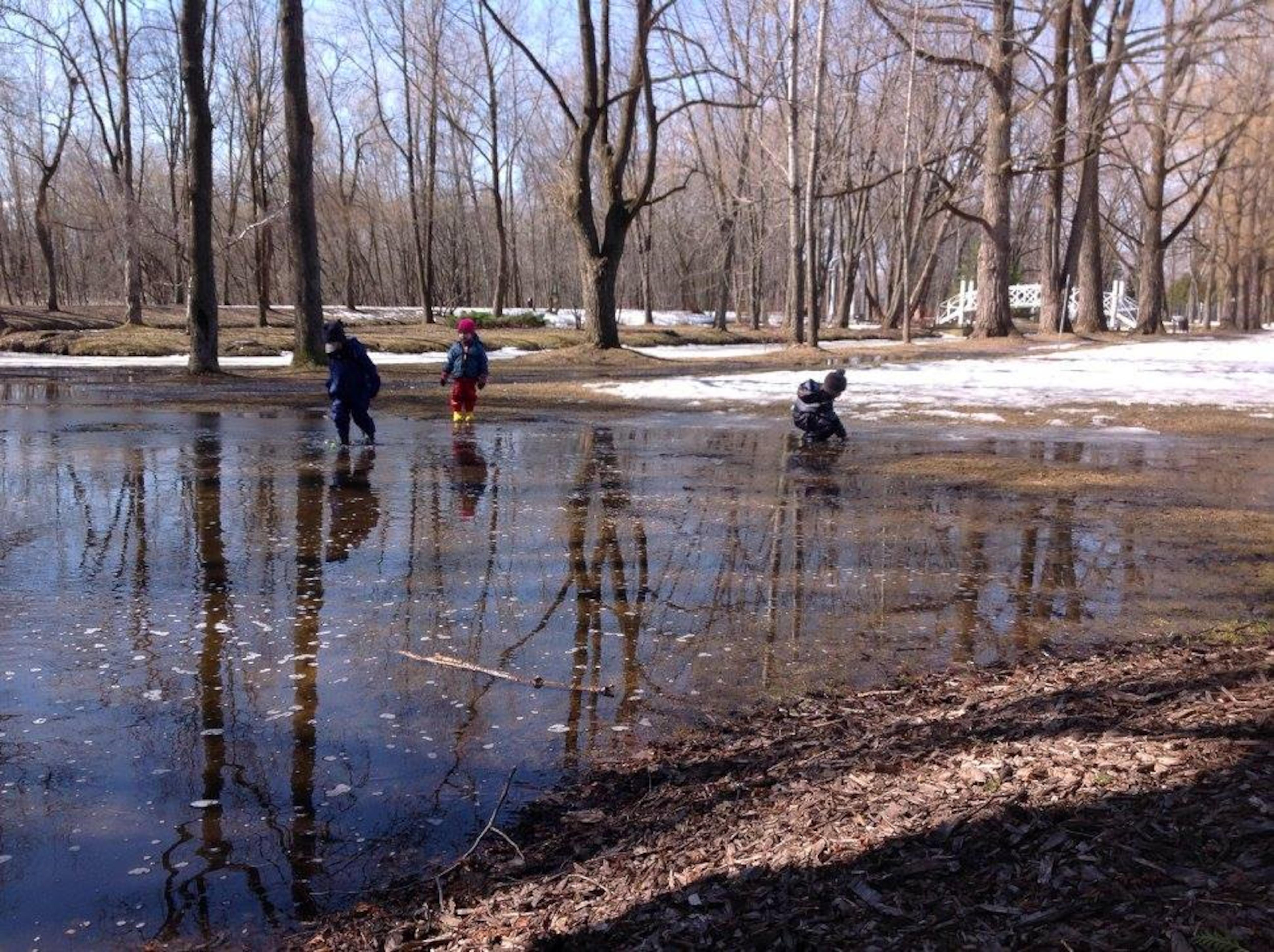 Des activités sont organisées autant à l'automne, à l'hiver qu'au printemps.