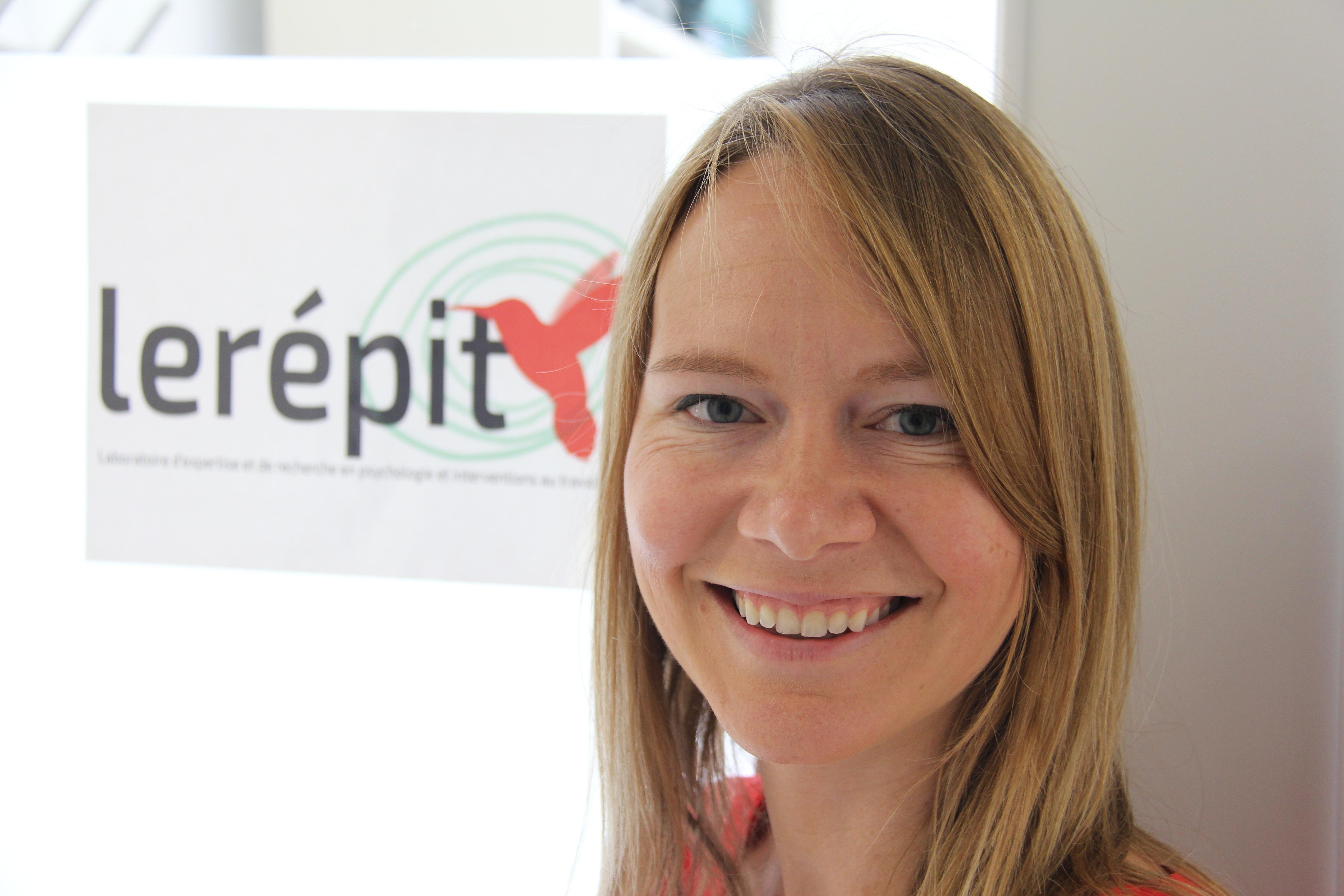 Julie Ménard, directrice du Laboratoire d'expertise et de recherche en psychologie et intervention au travail et professeure de psychologie à l'Université du Québec à Montréal (UQAM).