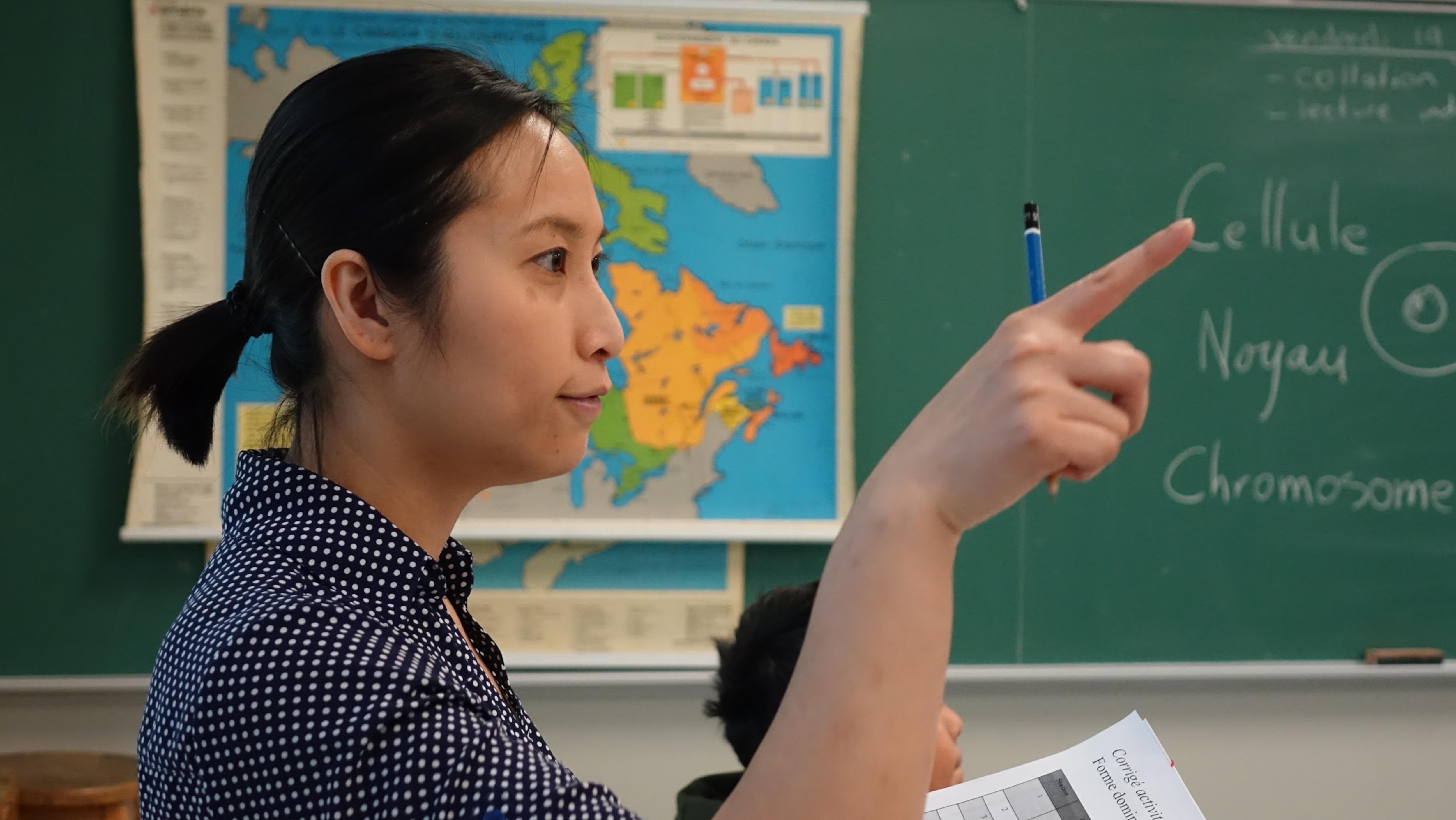Ly Tan, étudiante en sciences de la nature au Collège Ahuntsic, à Montréal