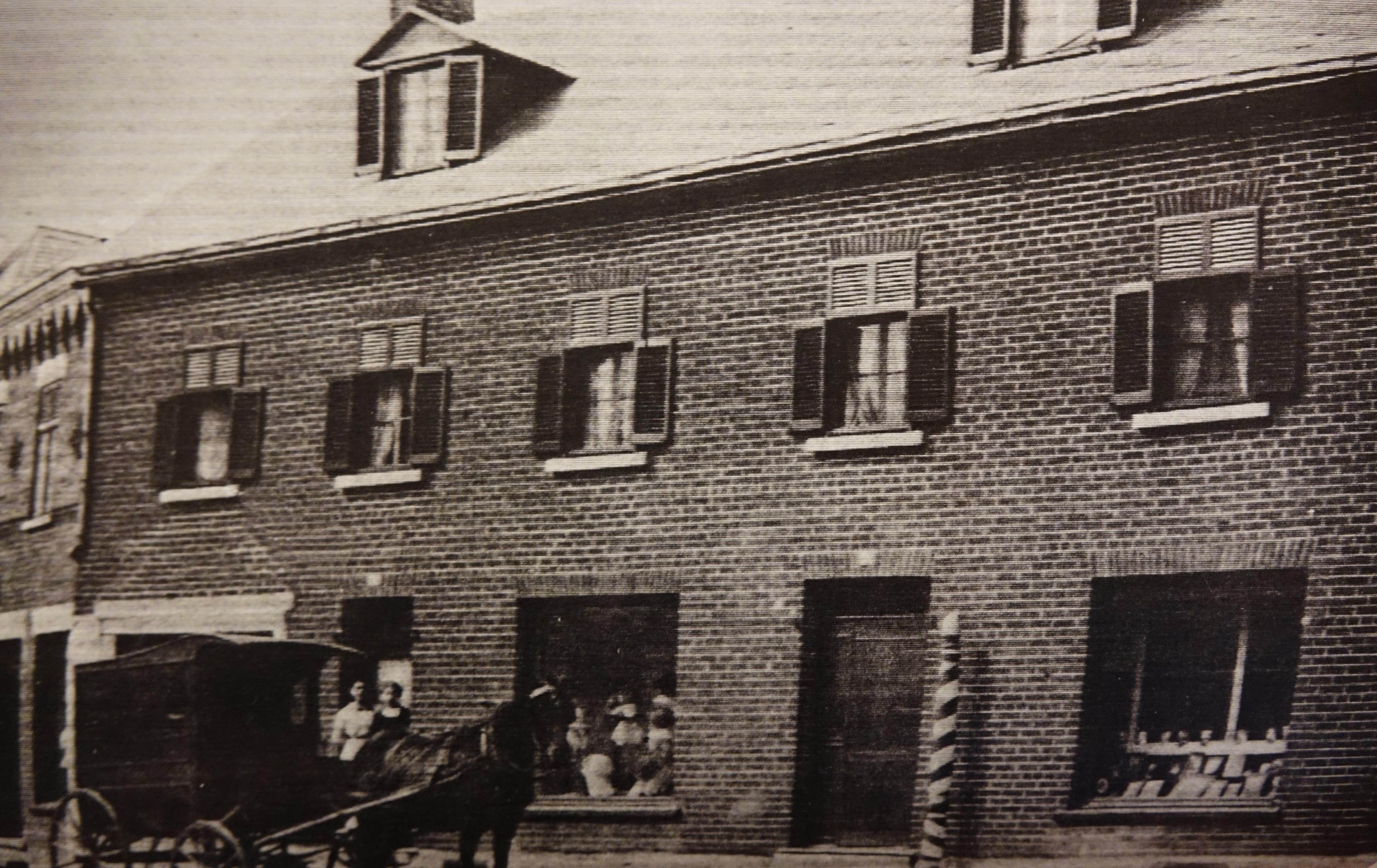 L'ancien quartier général.