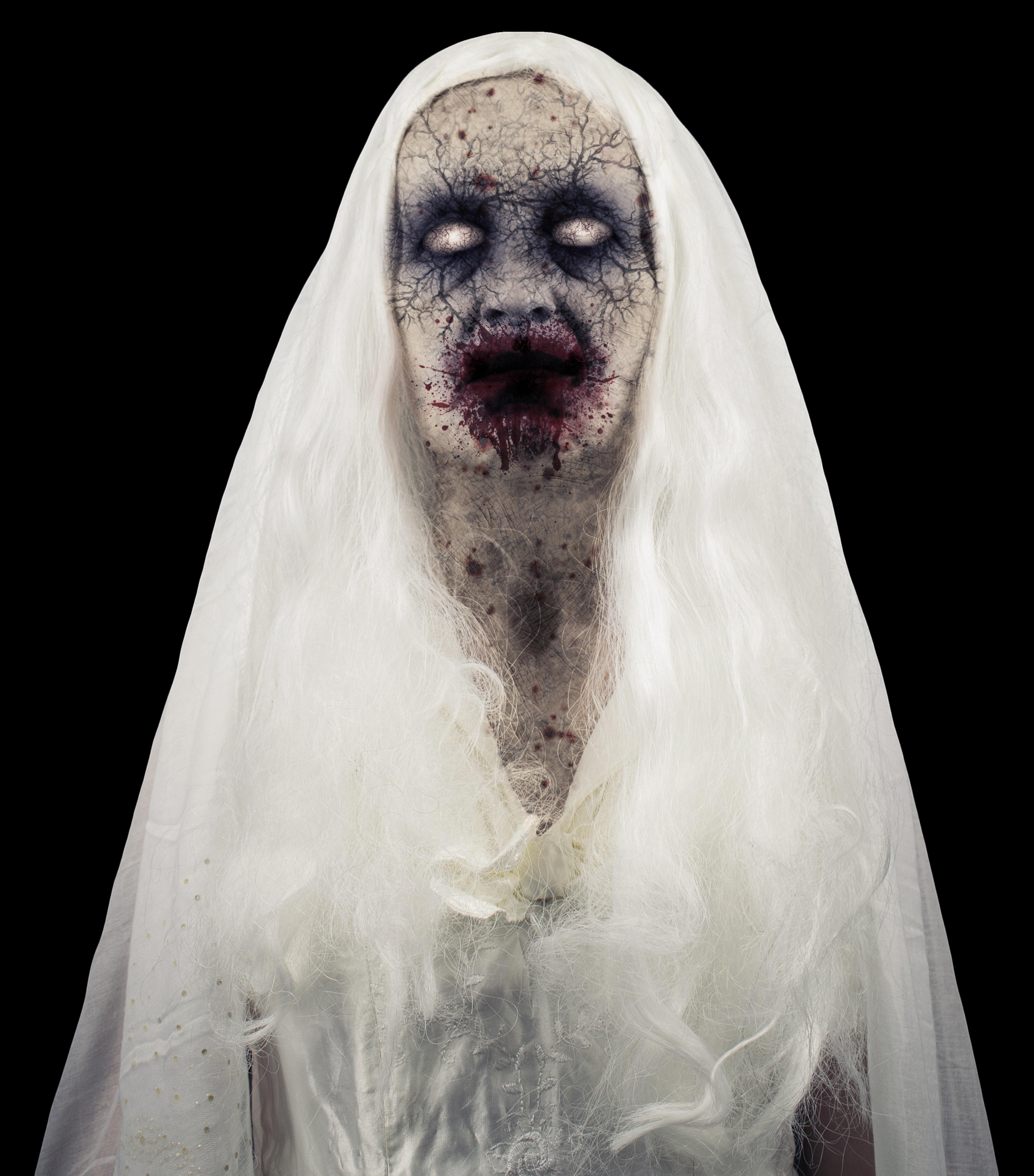 Un fantôme zombie