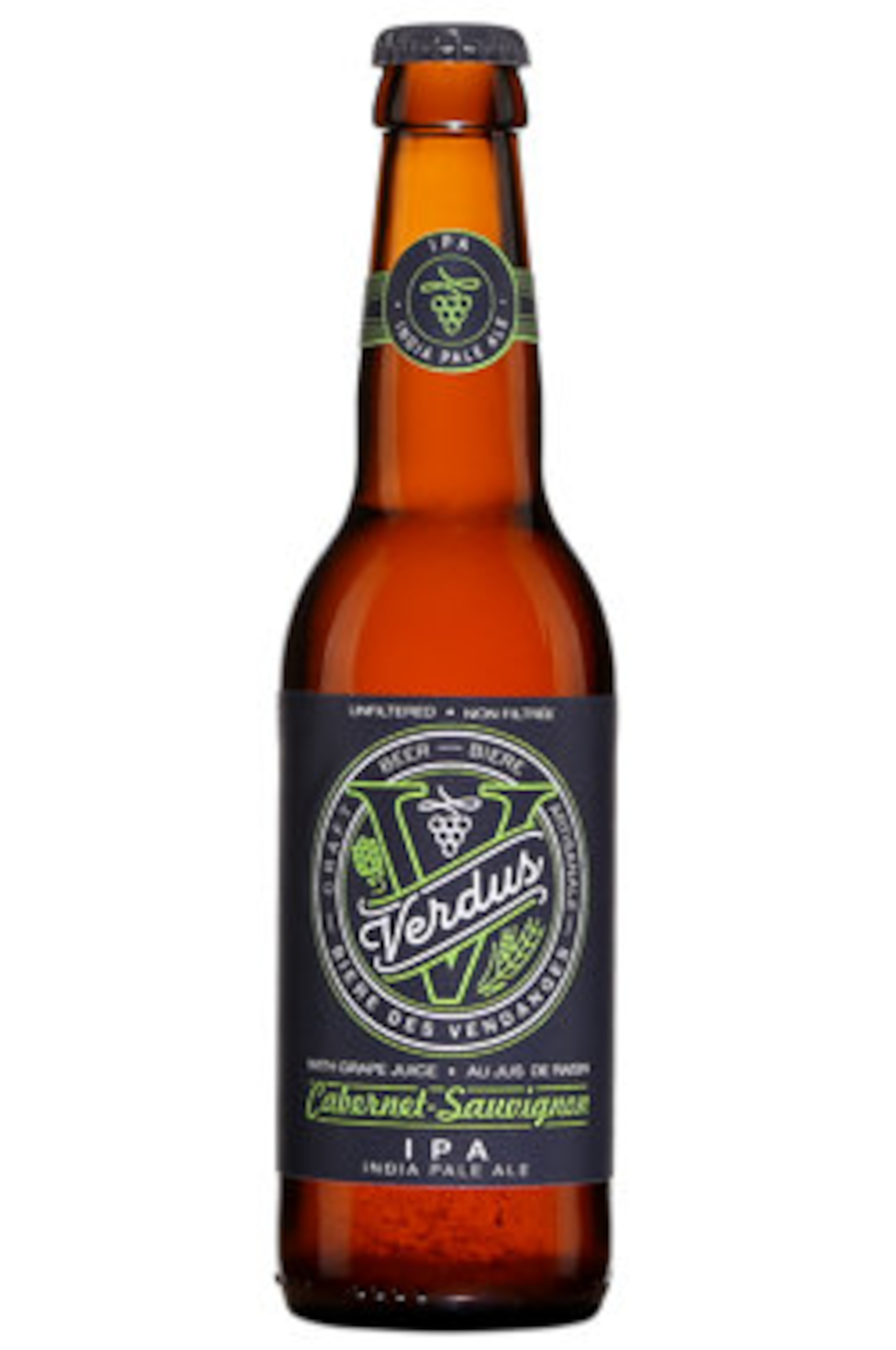 Verdus Cabernet-Sauvignon India Pale Ale   Code SAQ 13632470   4,95 $ (330 ml)