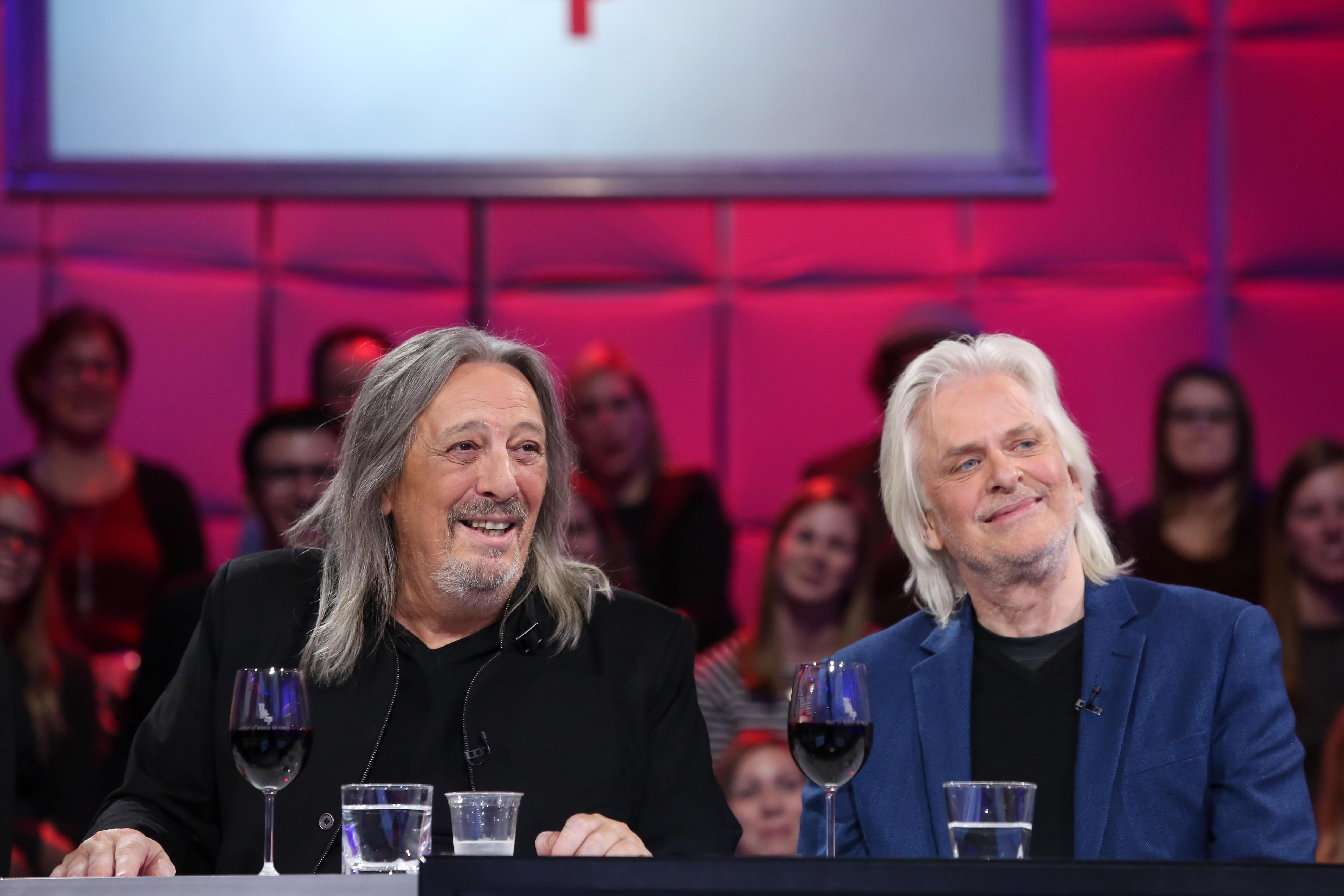 Serge Fiori et Louis Valois, souriants
