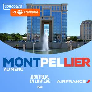 Concours: Courez la chance de vous envolez vers Montpellier avec Air France.