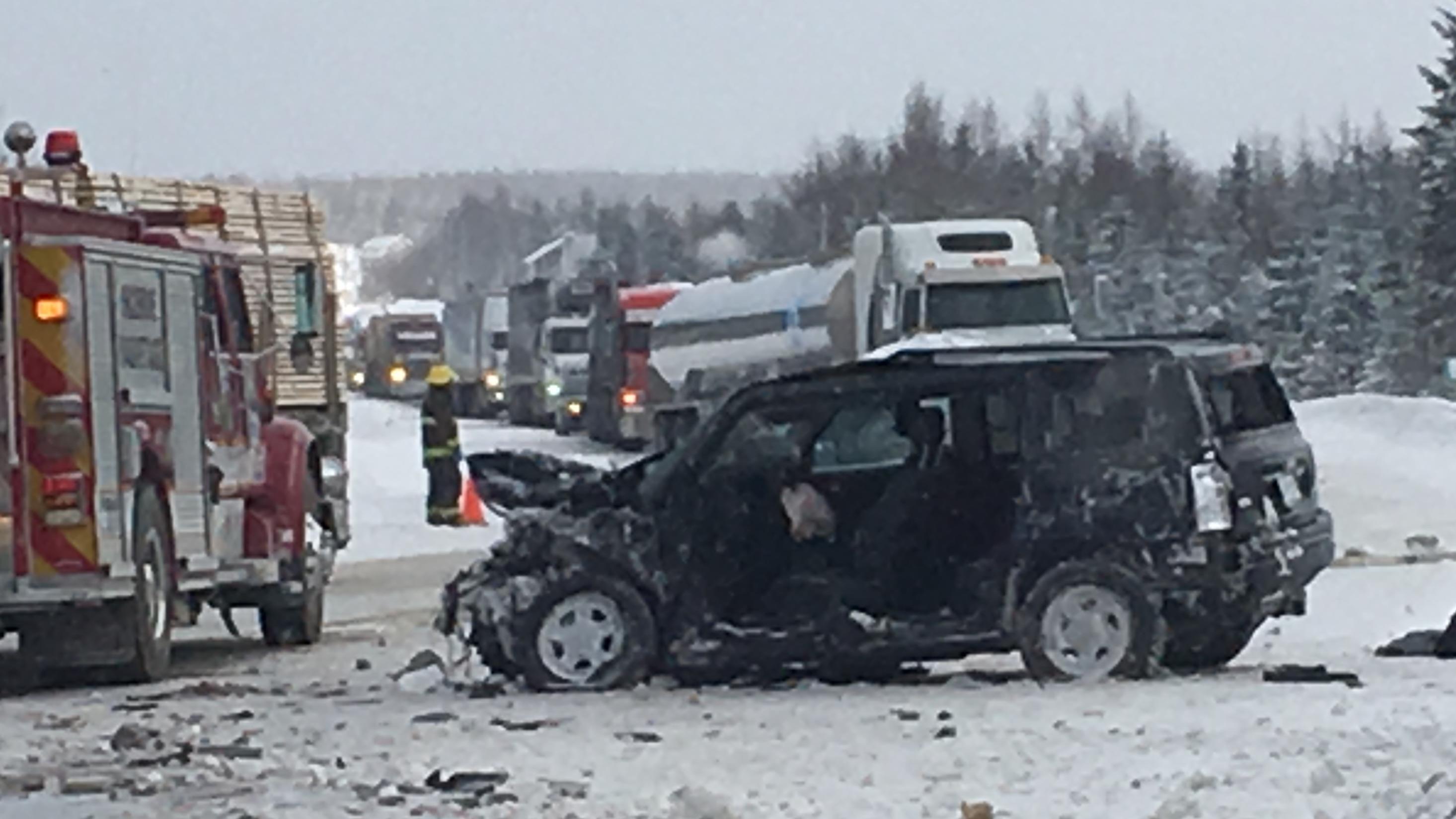 Les collisions mortelles ont baissé en 2016 sur le territoire de la SQ