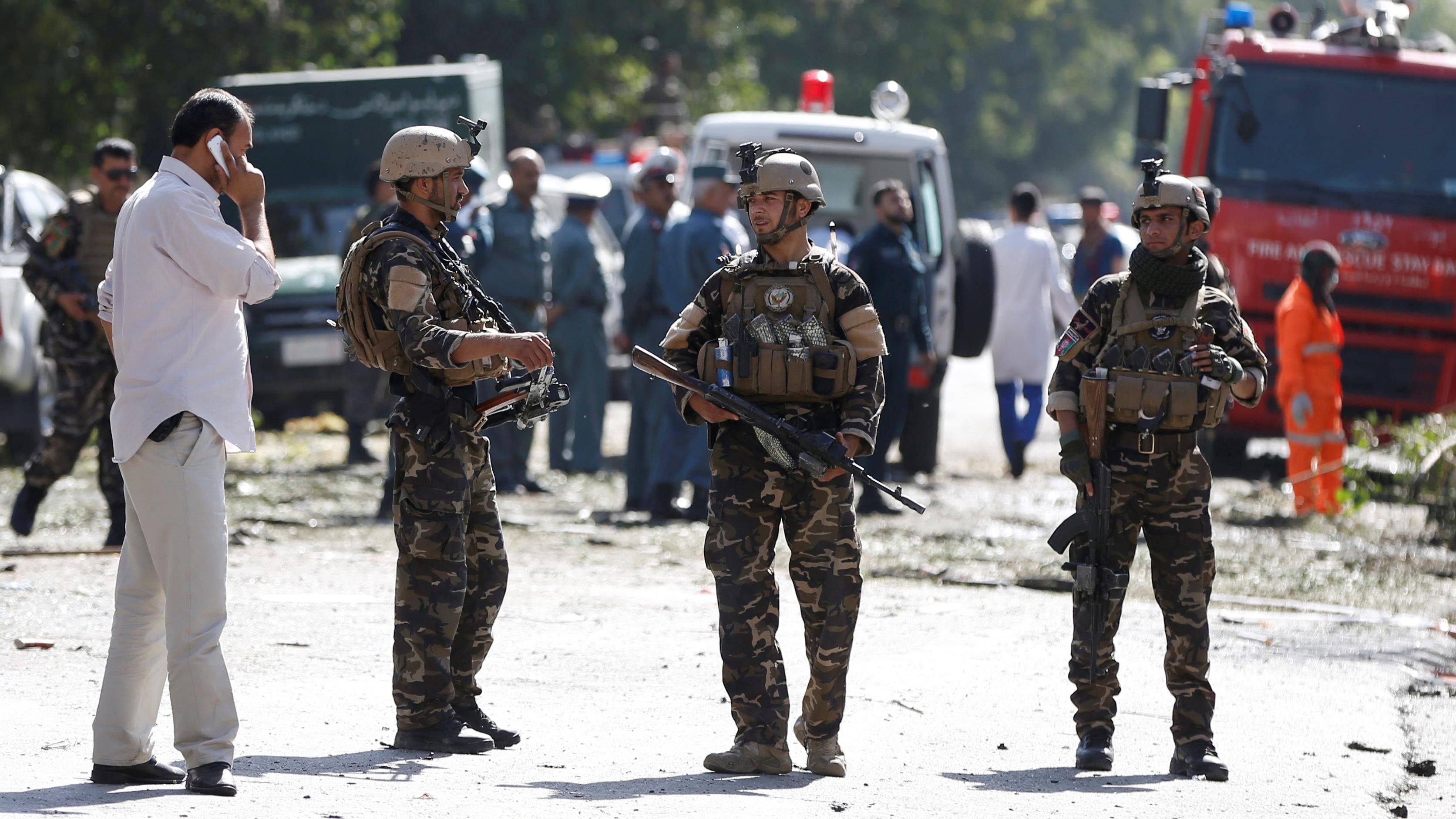 Un attentat fait au moins 35 morts à Kaboul
