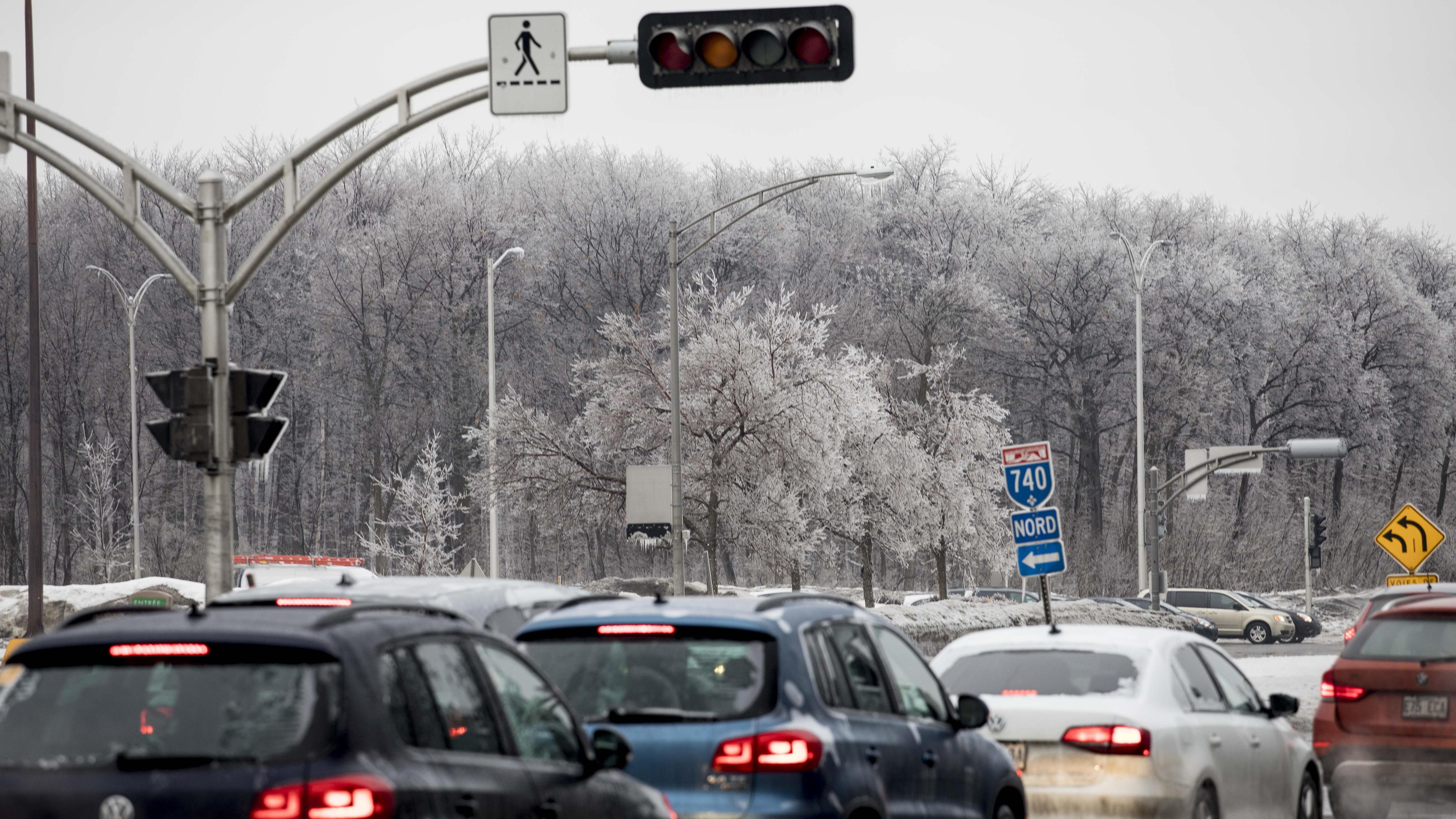 Les feux de circulation sont en panne sur le boulevard Laurier dans le secteur de l'Université Laval.