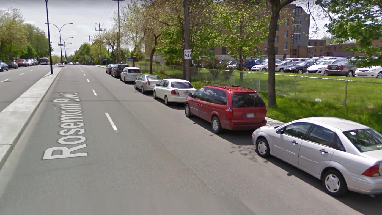 L'état de la chaussée sur le boulevard Rosemont en 2010