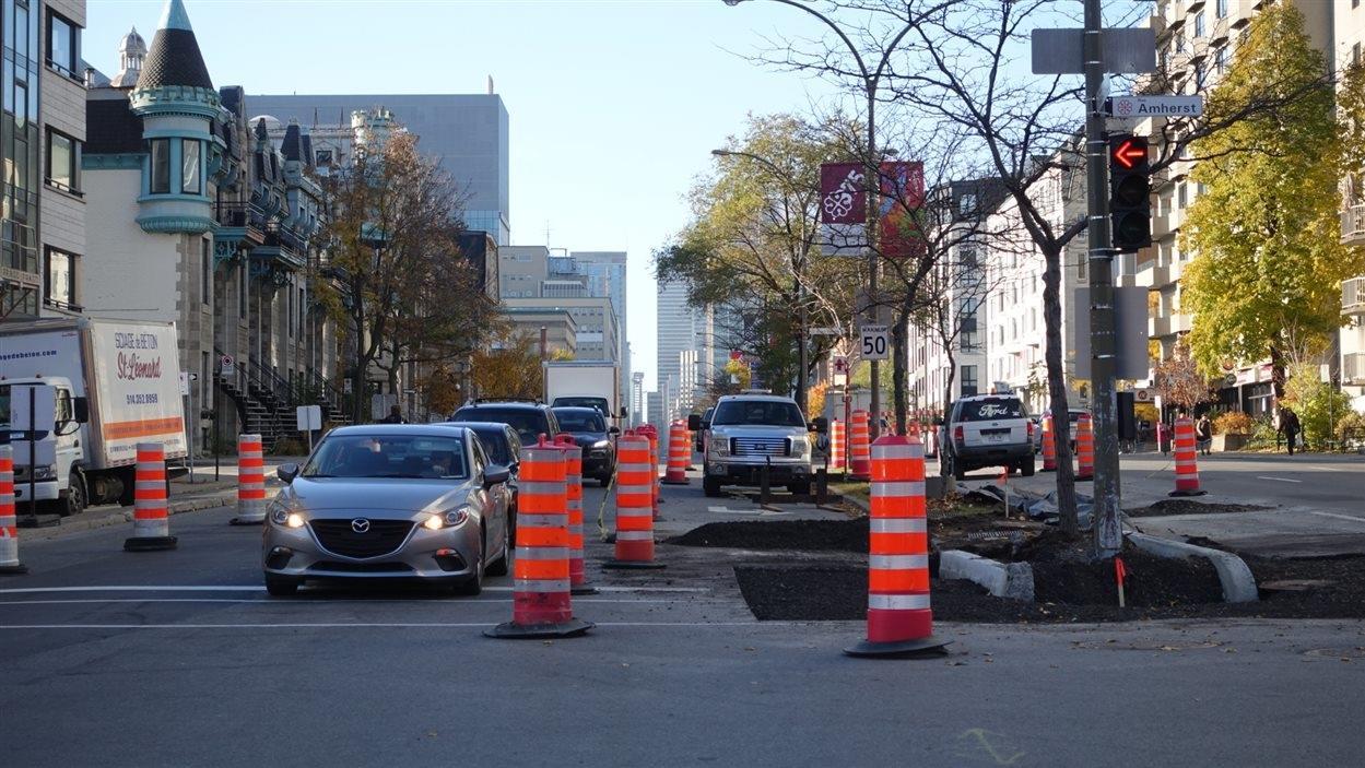 Dur week-end à prévoir pour les automobilistes de la région de Montréal