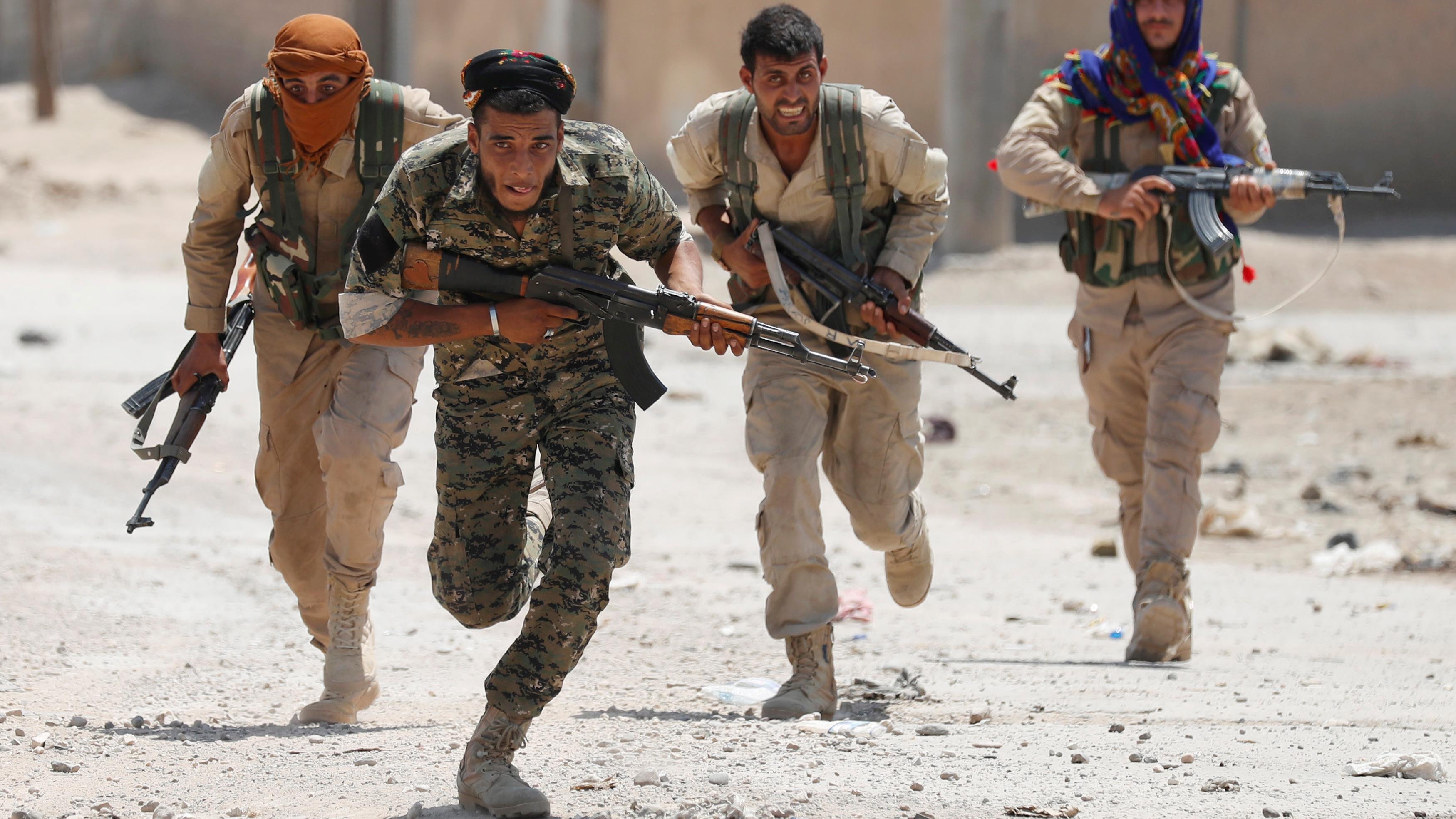 La CIA sabre son programme de soutien aux rebelles syriens