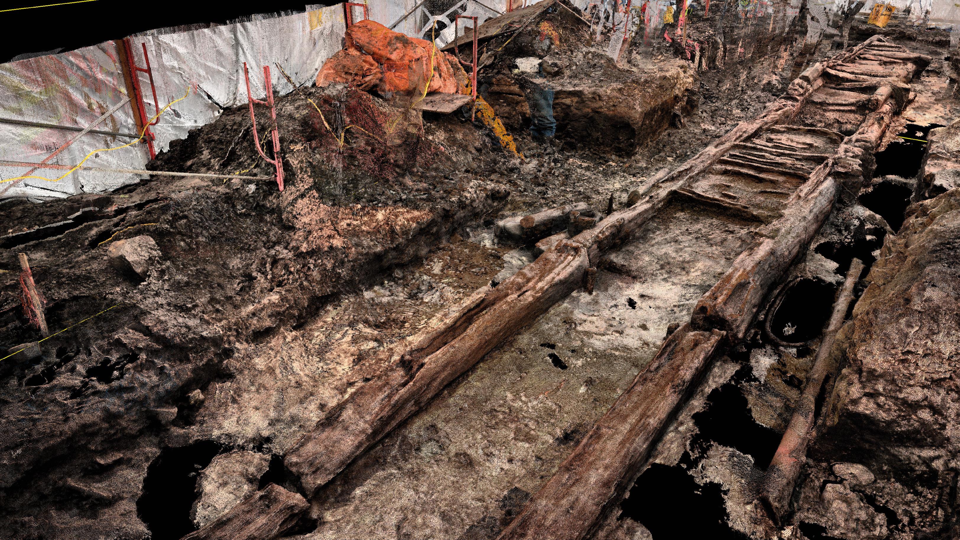 La découverte fait 20 mètres de longueur.