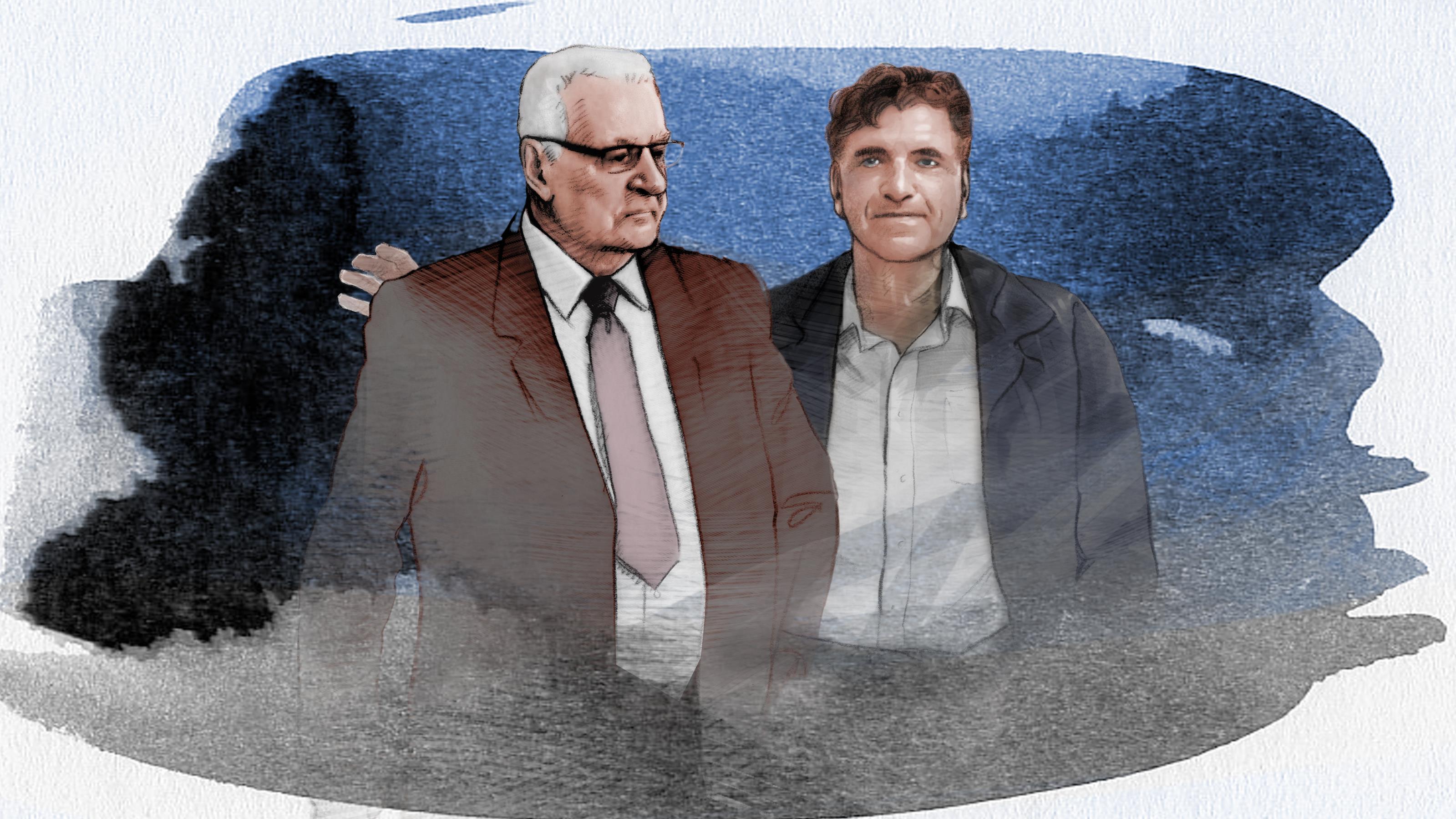 Georges Leclerc et Michel Courtemanche