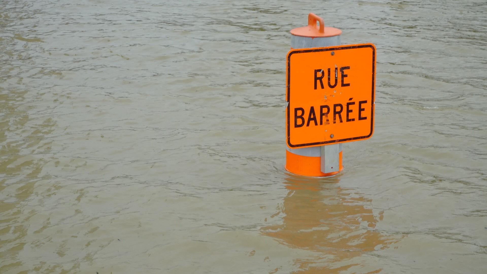 Crues printanières : les niveaux des cours d'eau en voie de diminuer
