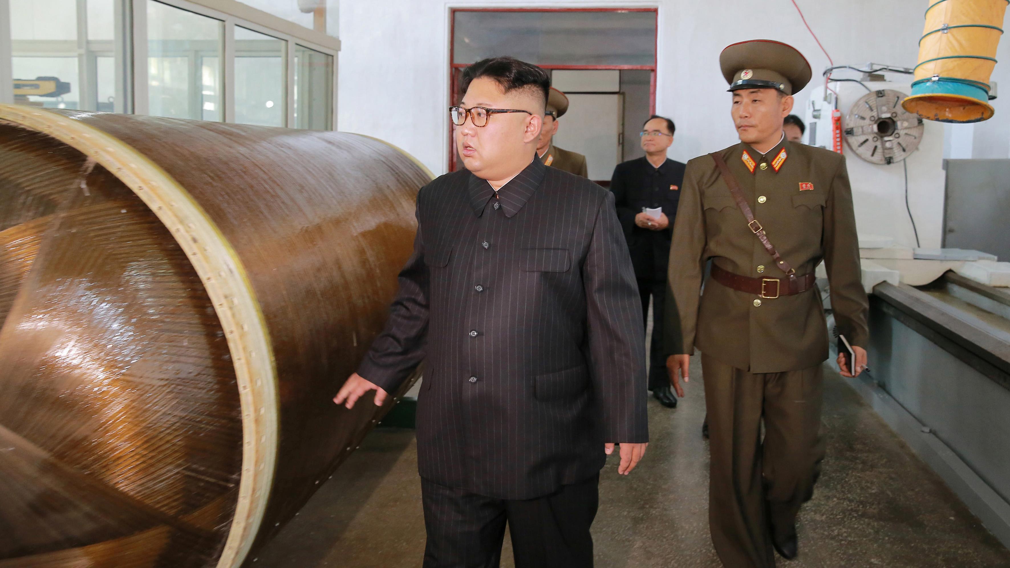 Le dernier missile nord-coréen capable d'atteindre l'île américaine de Guam