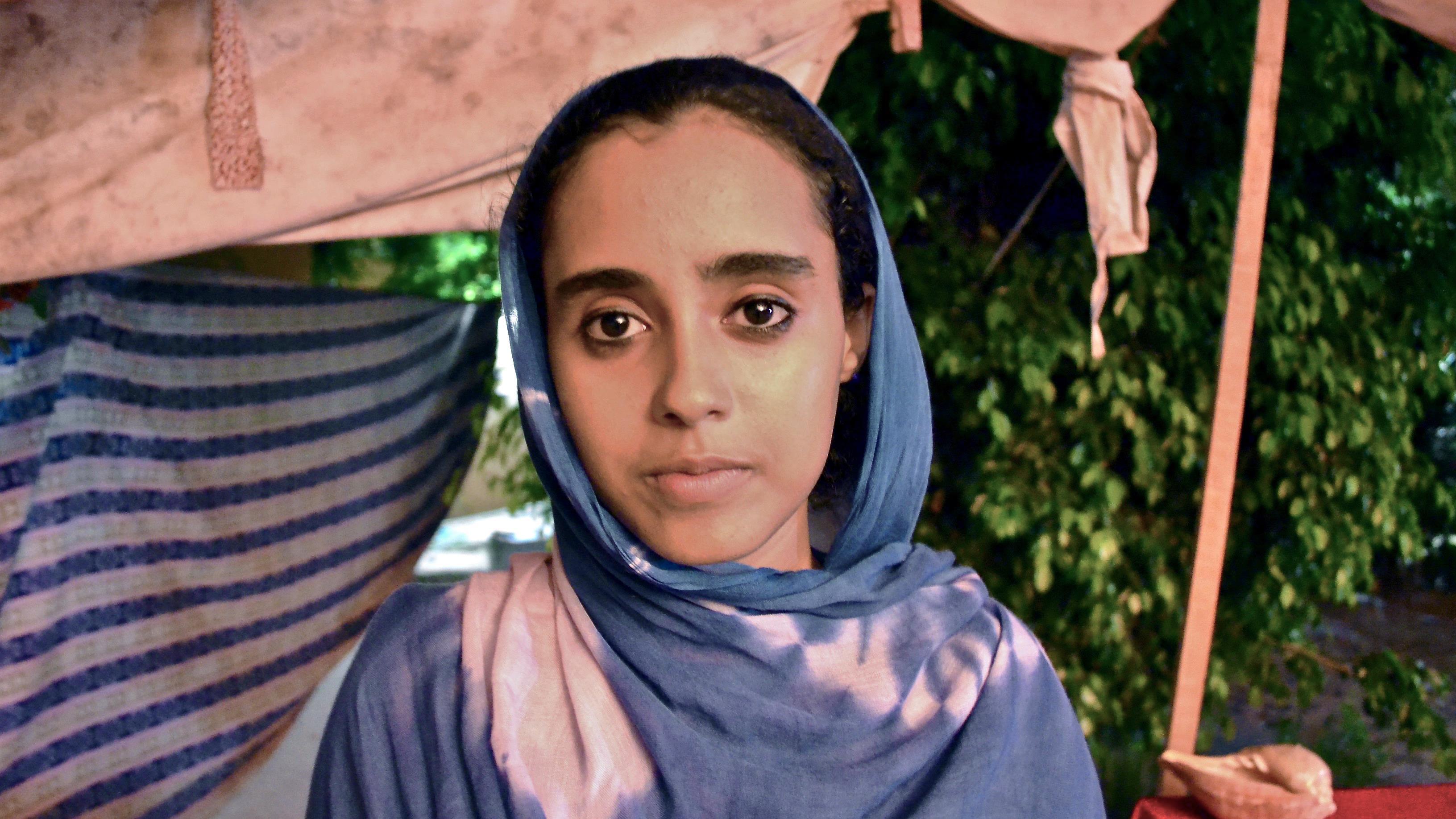 Aïcha Hamady, 22 ans, étudiante féministe
