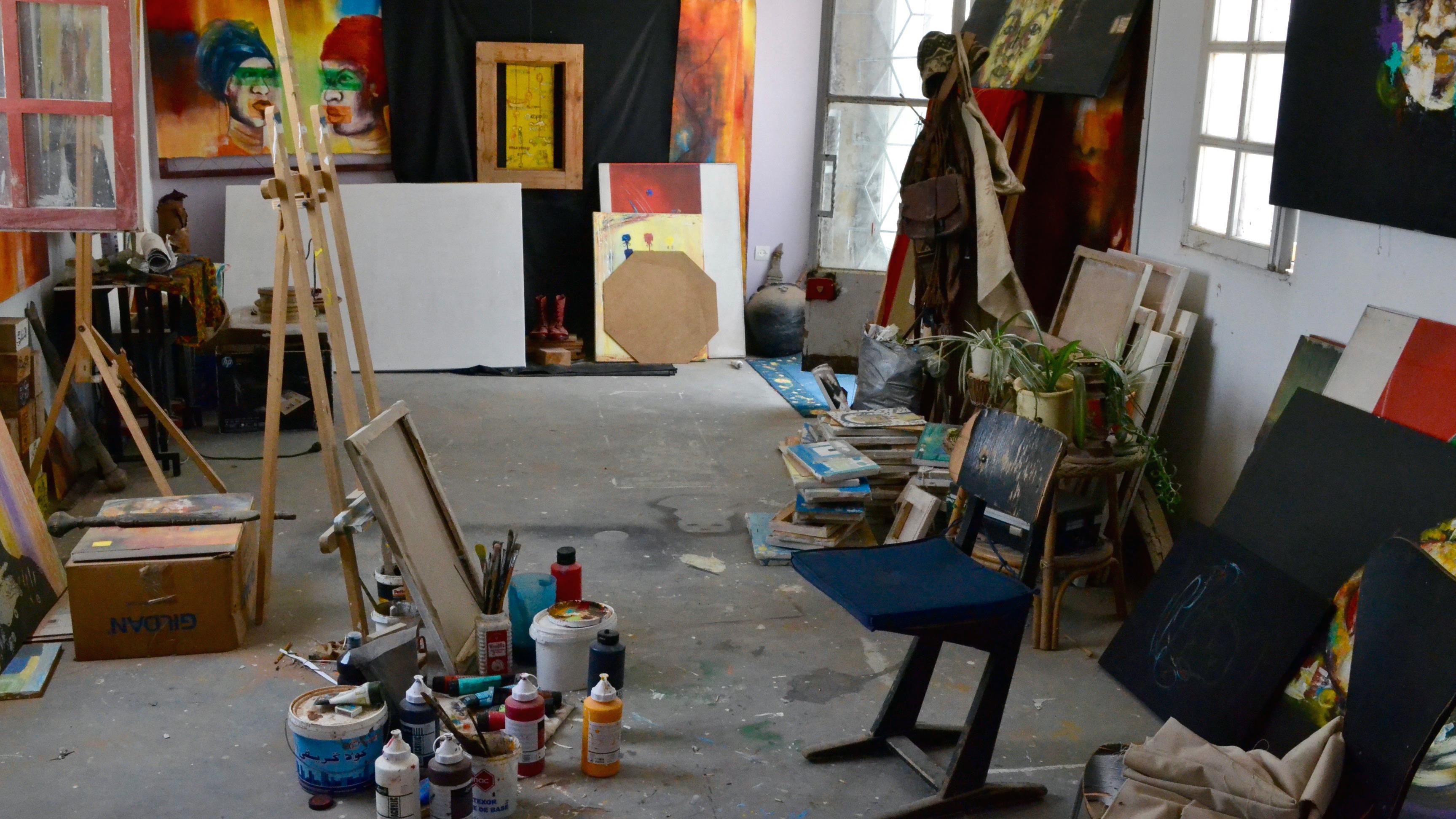 L'atelier d'Amy Sow