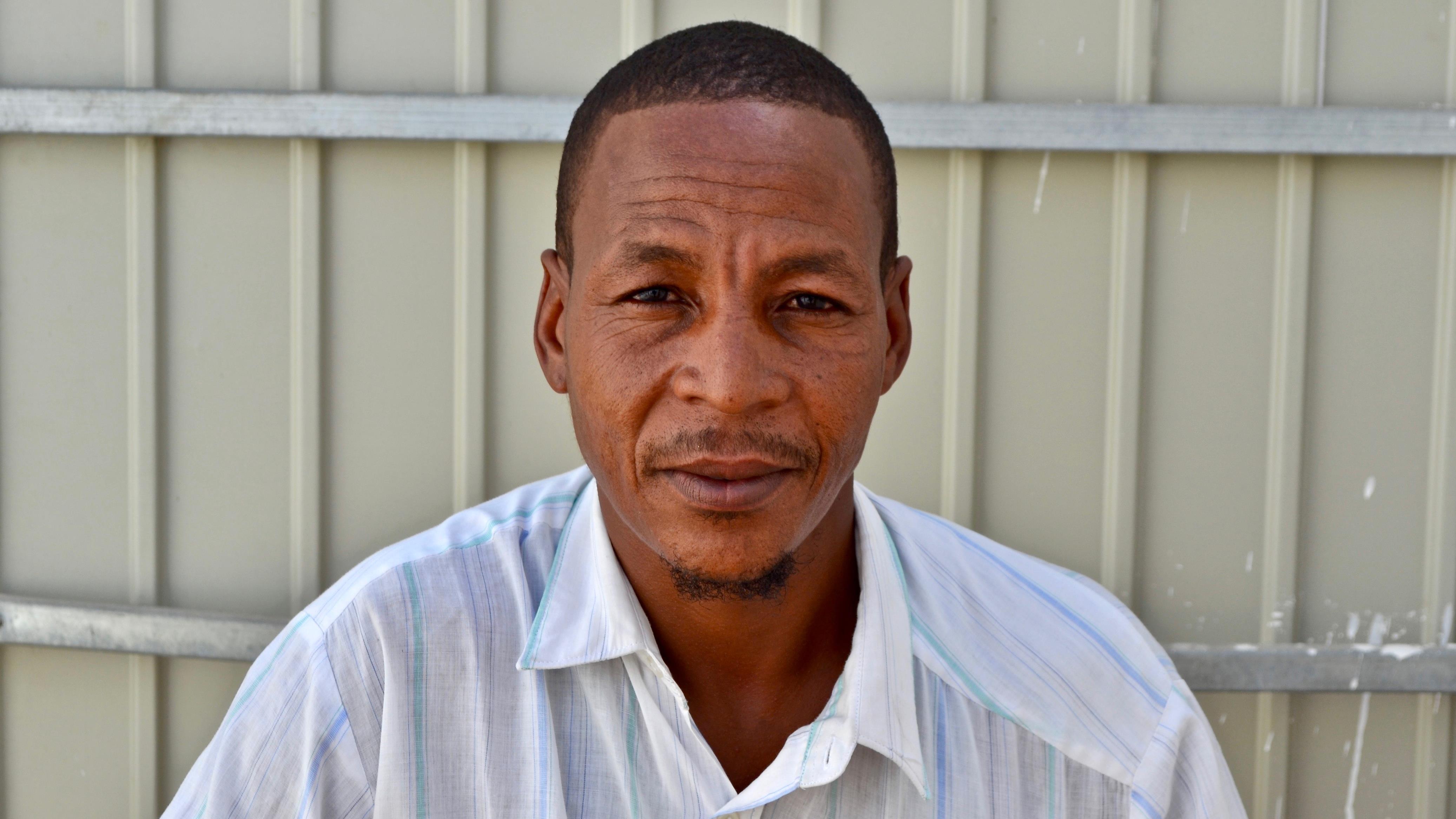 Maatallah Ould Mbeirik, 42 ans, ex-esclave