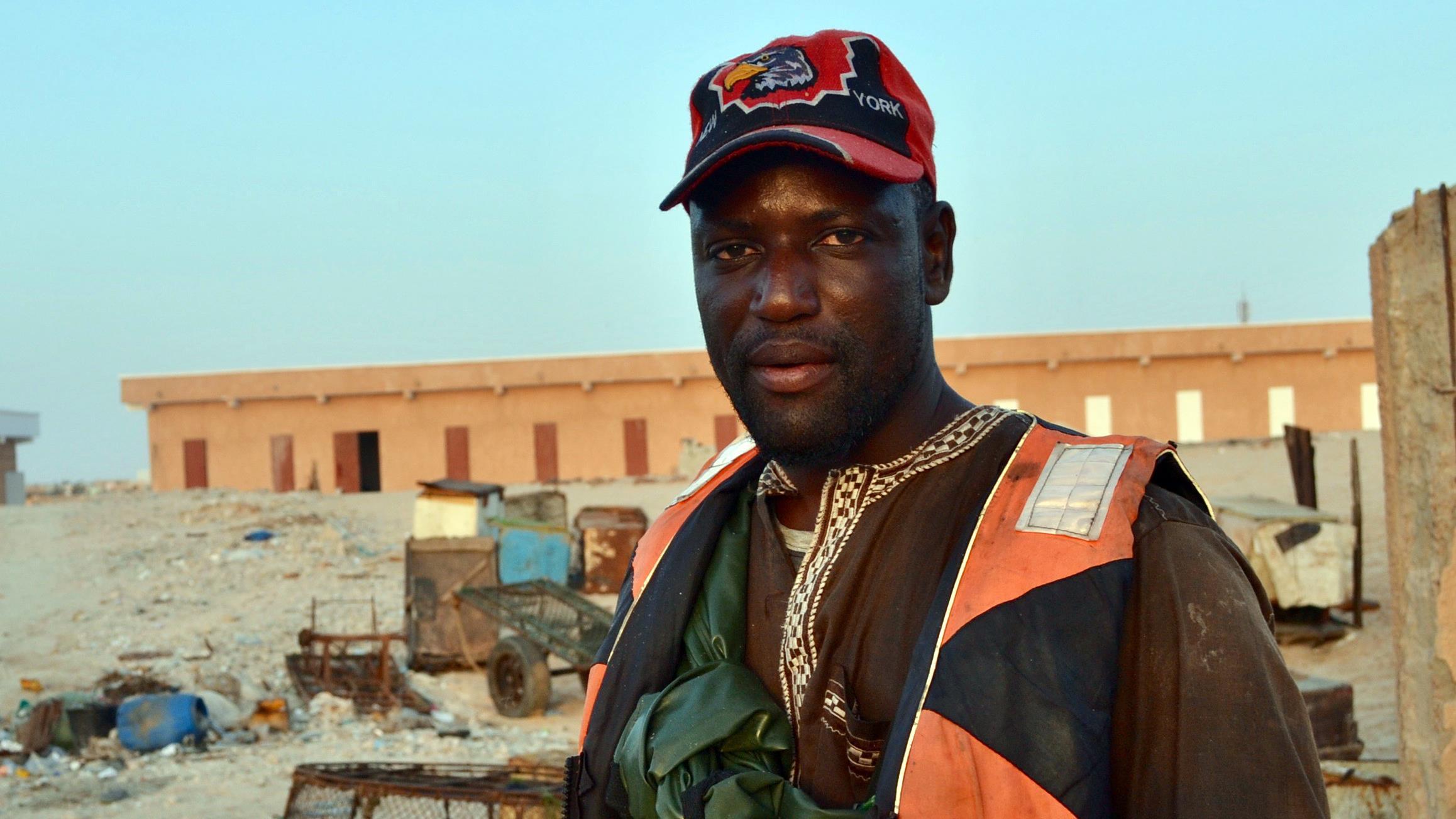 Ousmane N'Diaye, 38 ans, pêcheur