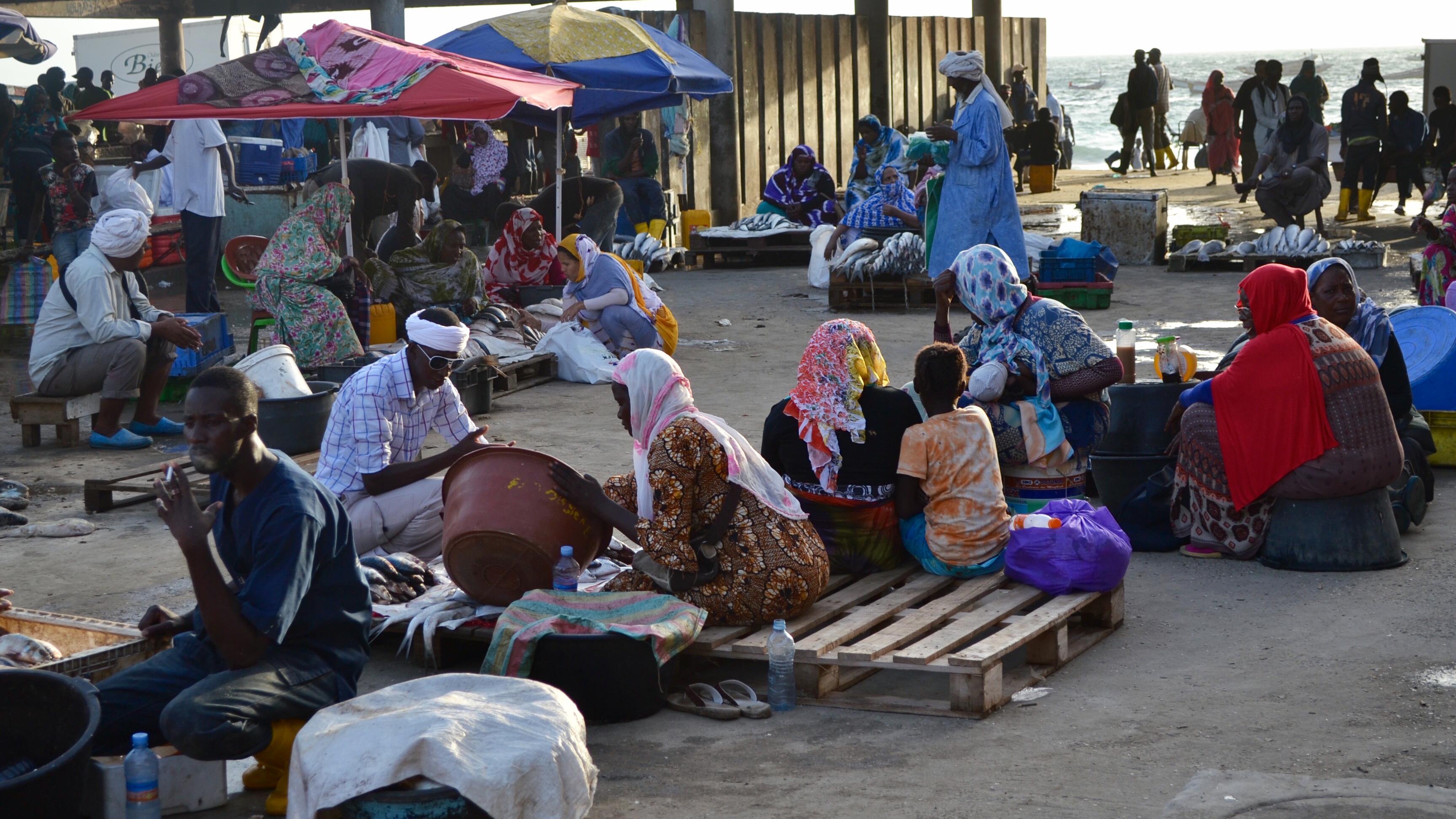 Le port de Nouakchott