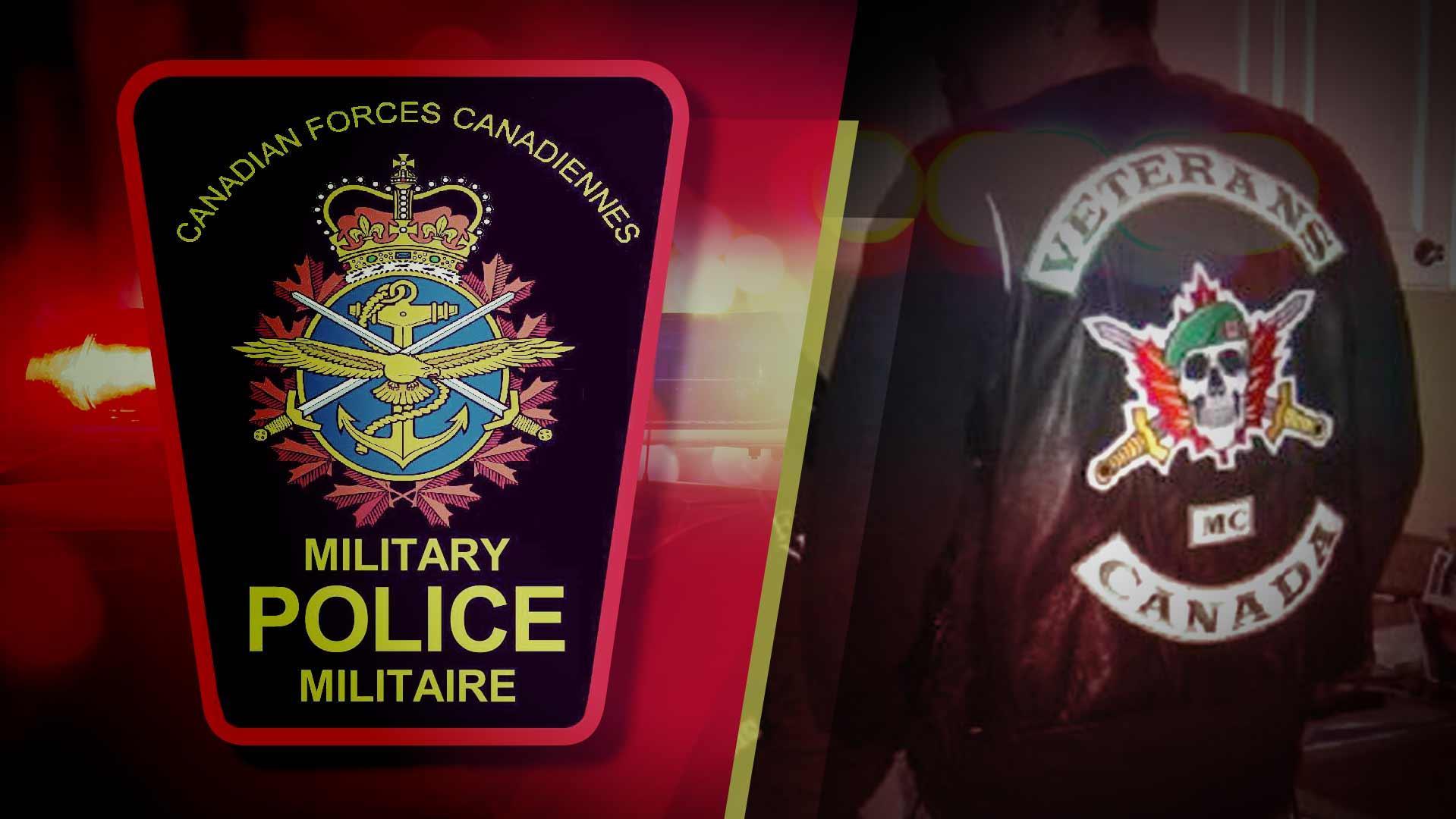 Des soldats canadiens tissent des relations avec des motards criminels
