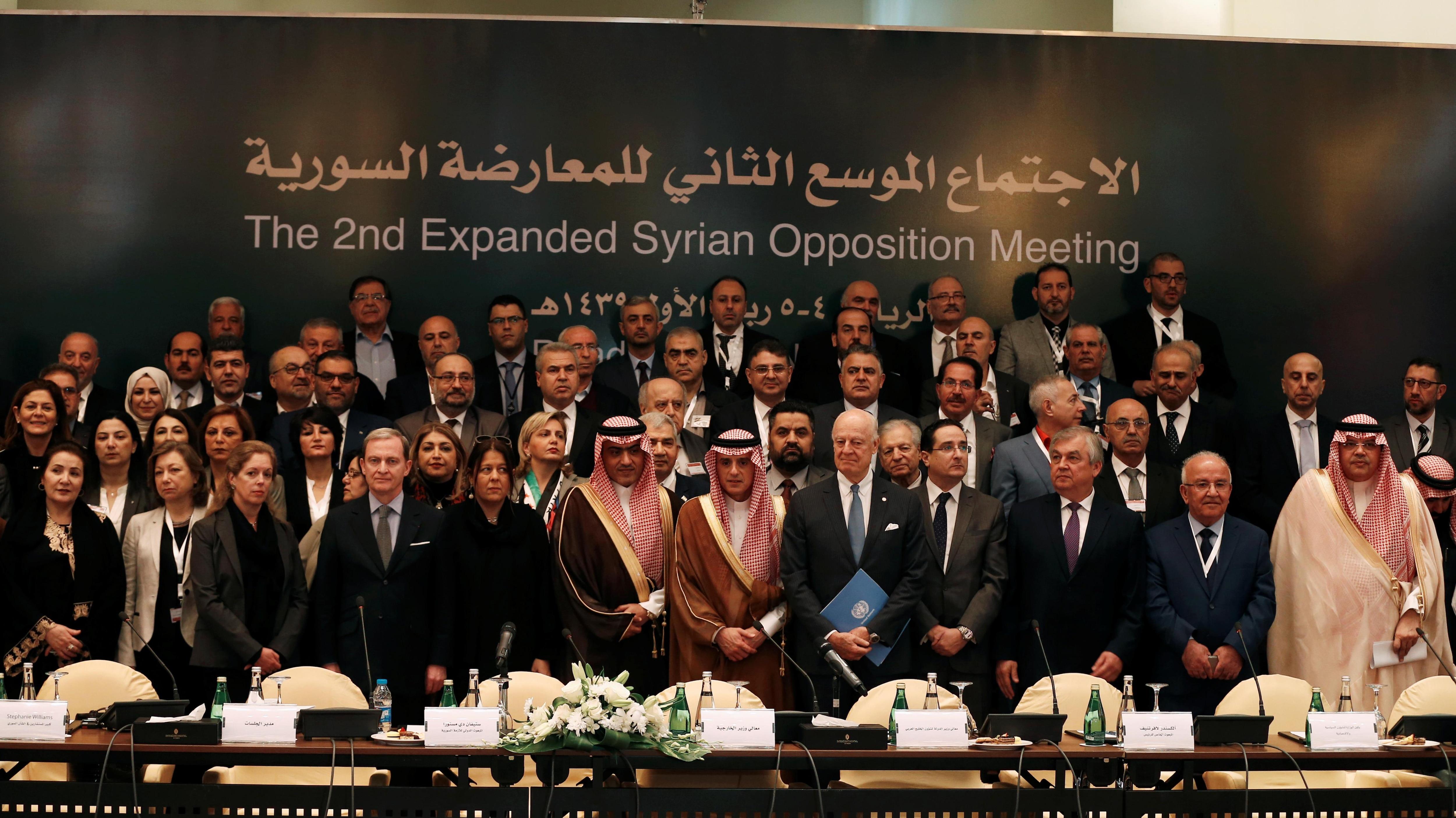 Une opposition syrienne unie pour la première fois en vue de nouvelles négociations