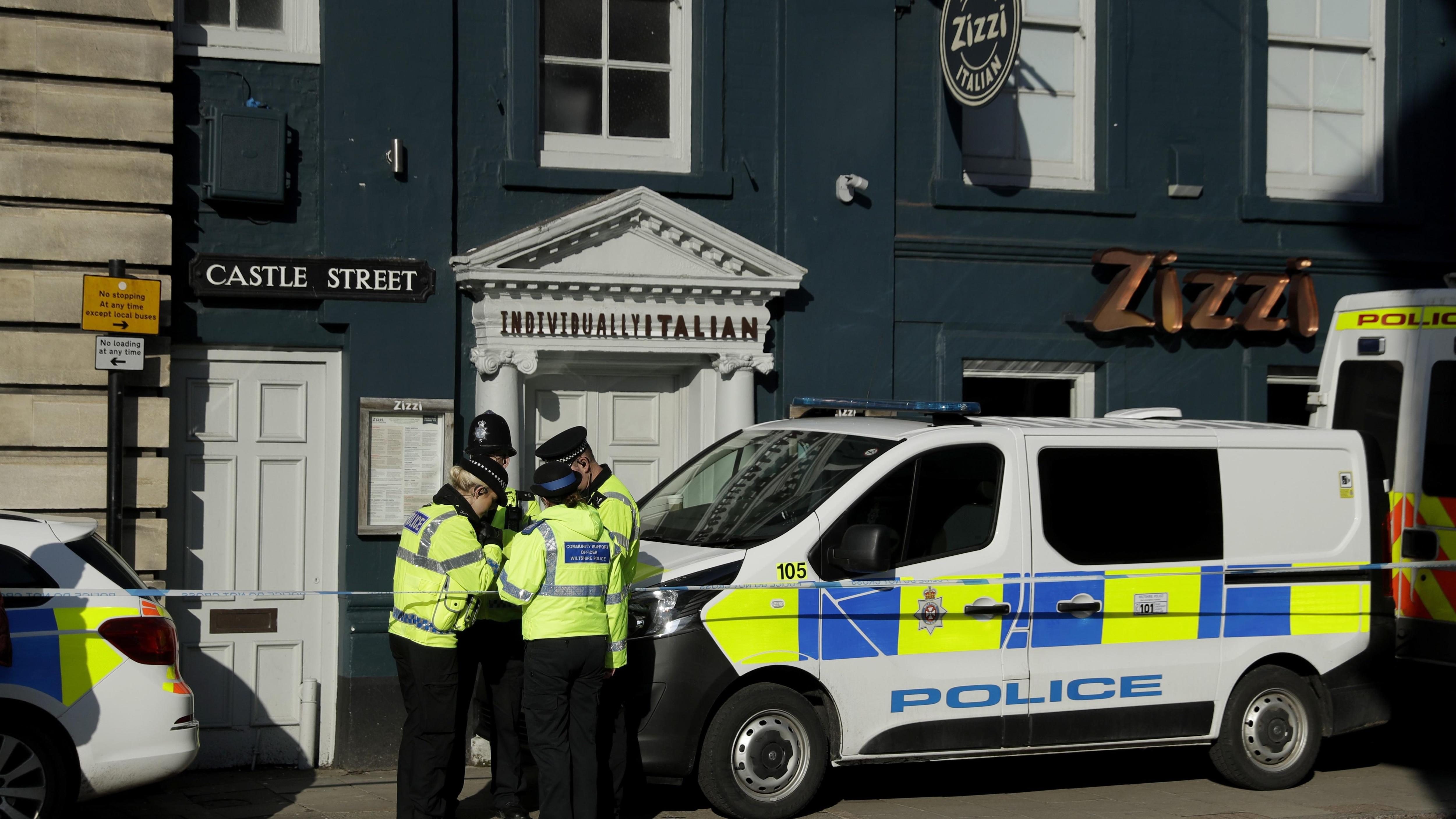 Ex-espion empoisonné : des « traces » d'agent innervant trouvés dans un pub et un restaurant de Salisbury