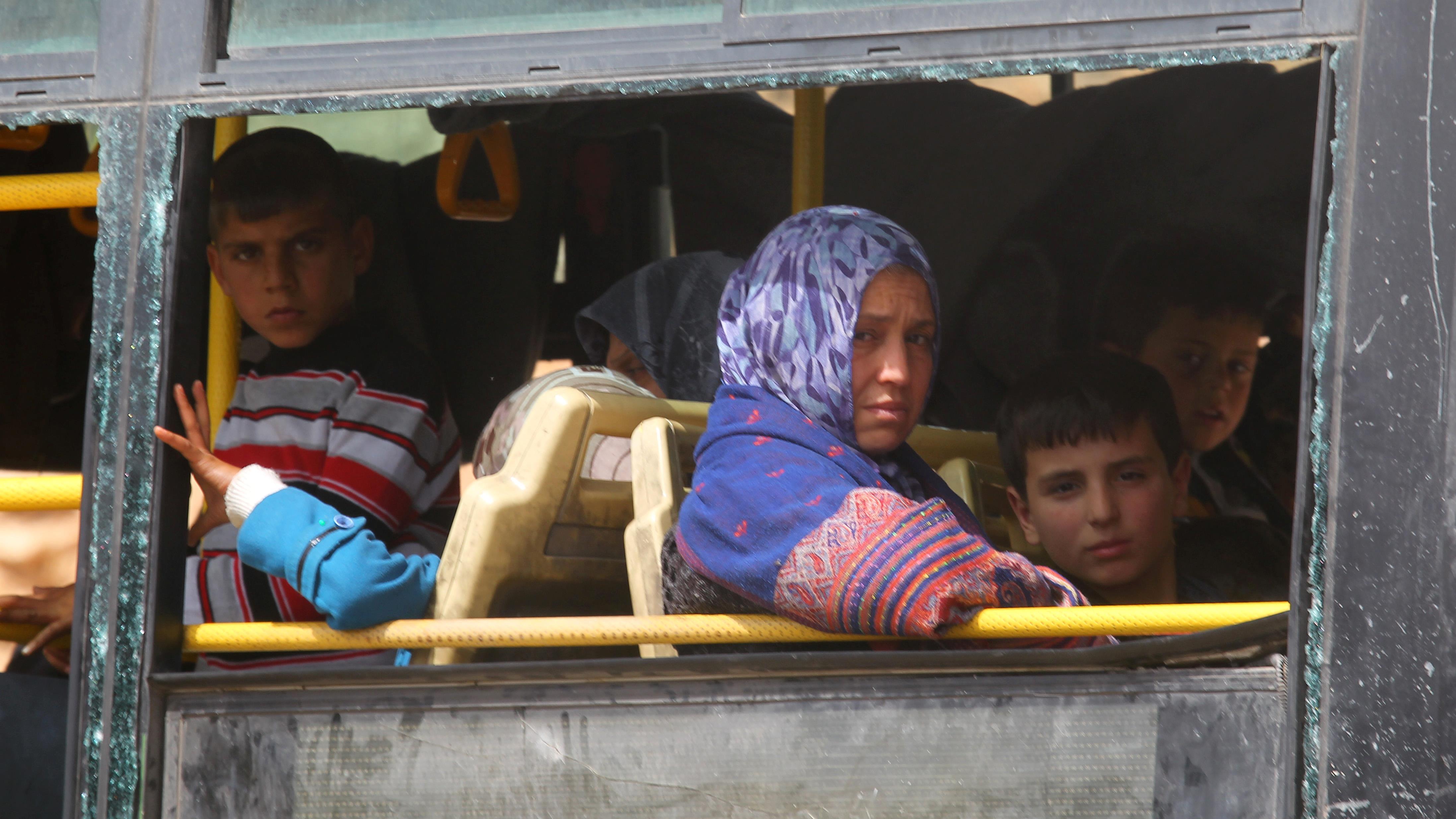 Fin de la plus vaste opération d'évacuation en Syrie