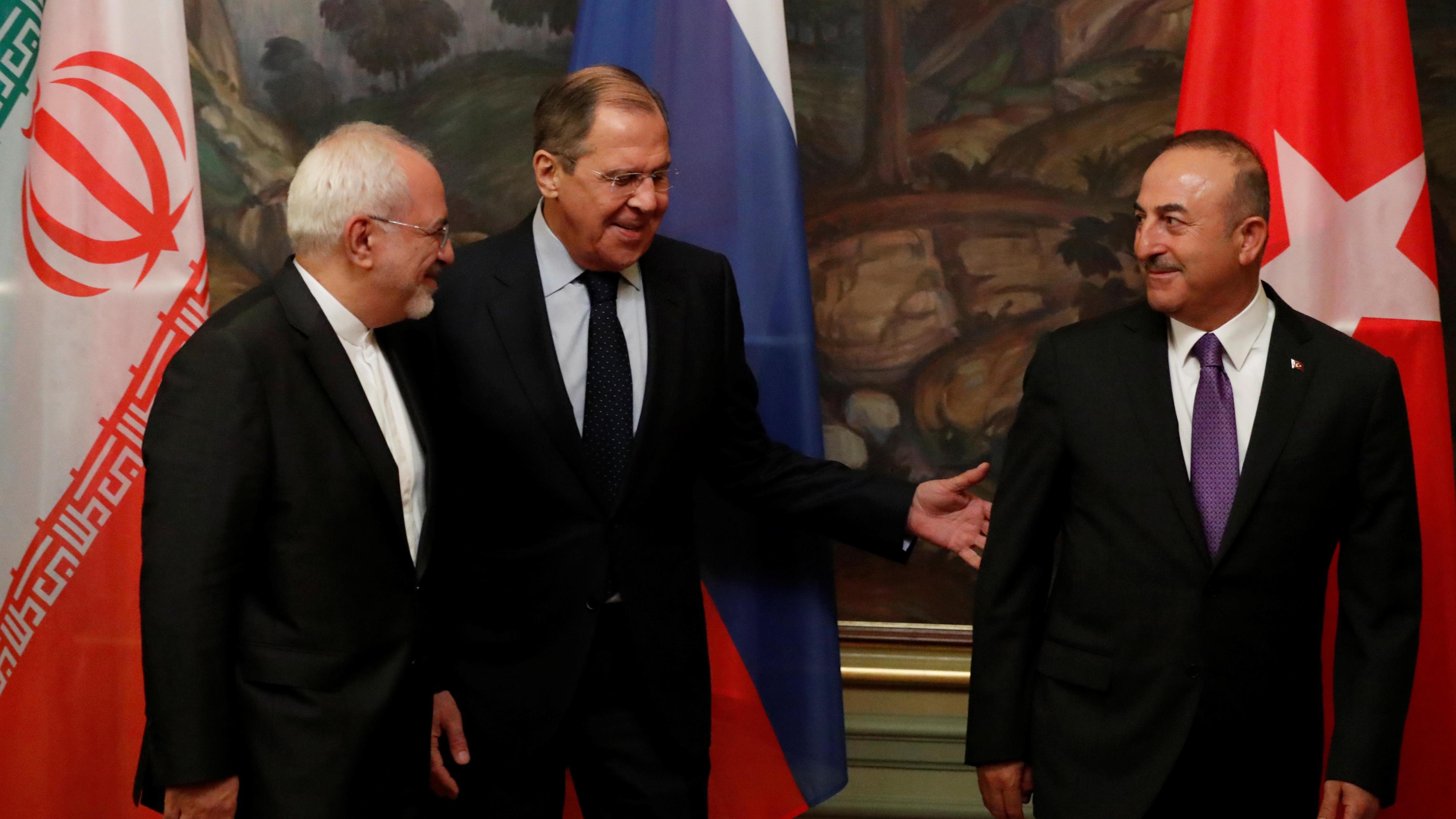 Russie, Turquie et Iran réunis pour un sommet sur la Syrie