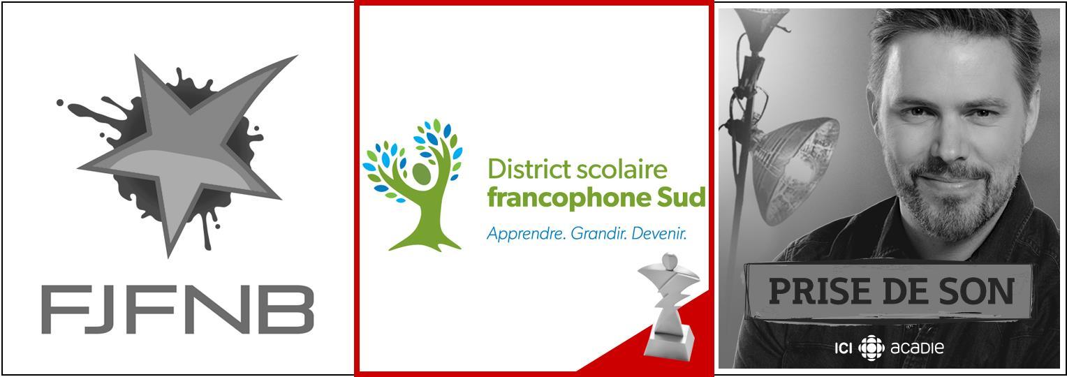 Fédération des jeunes francophones du Nouveau-Brunswick   District scolaire francophone Sud   Radio-Canada Acadie