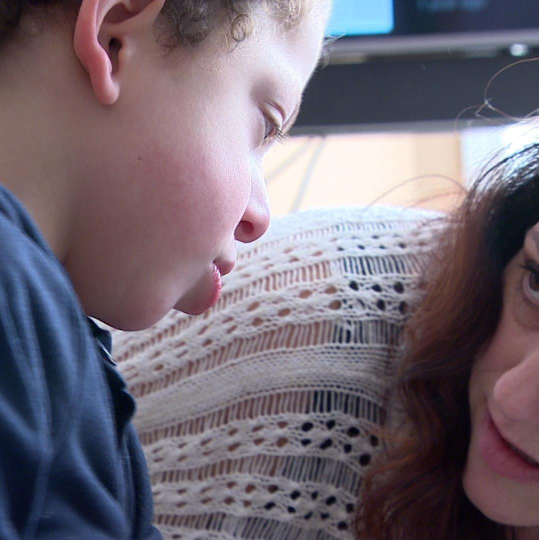 Photo de Kayden et ca mère