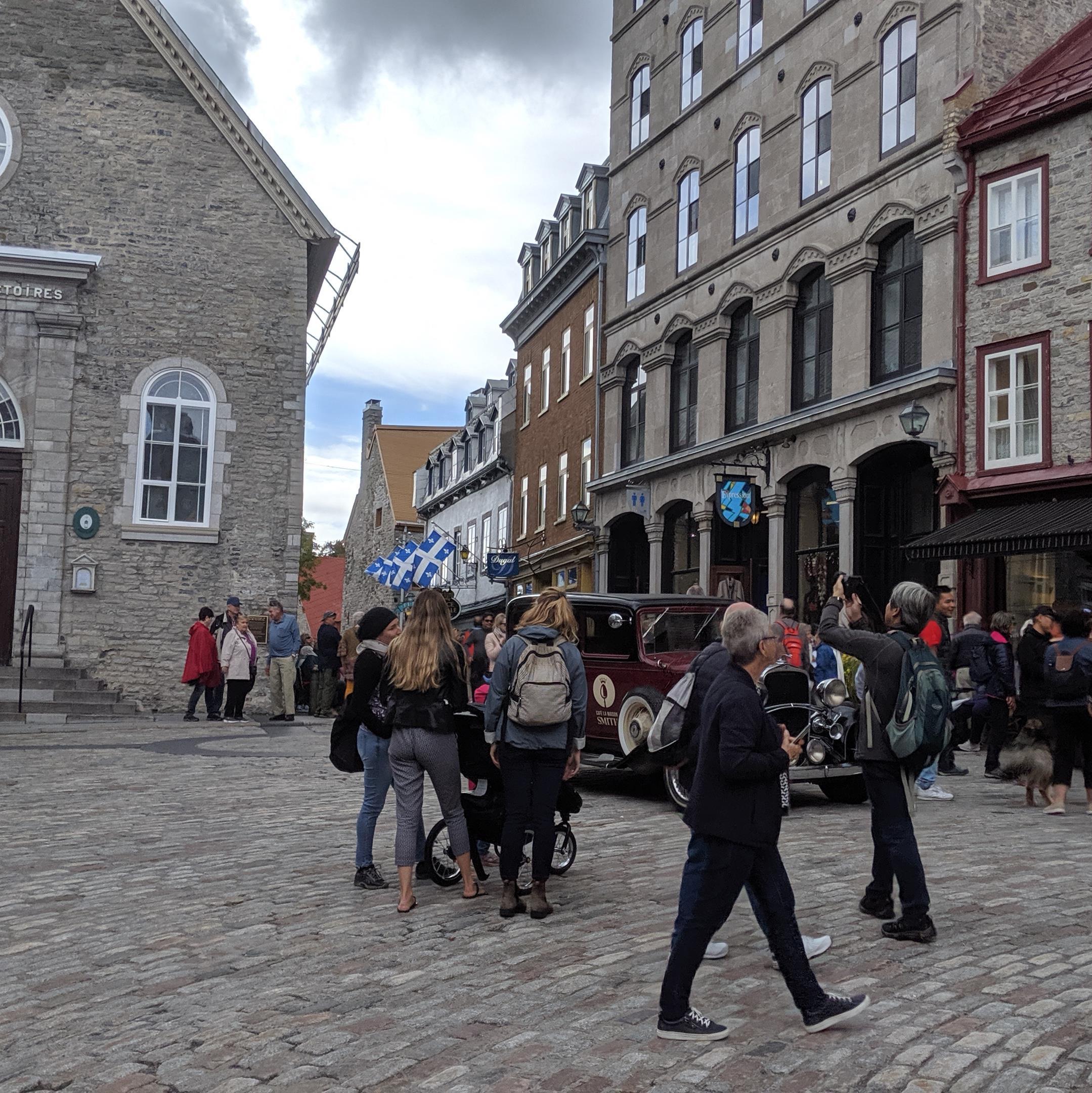 Las calles del Viejo Quebec atraen muchos turistas.